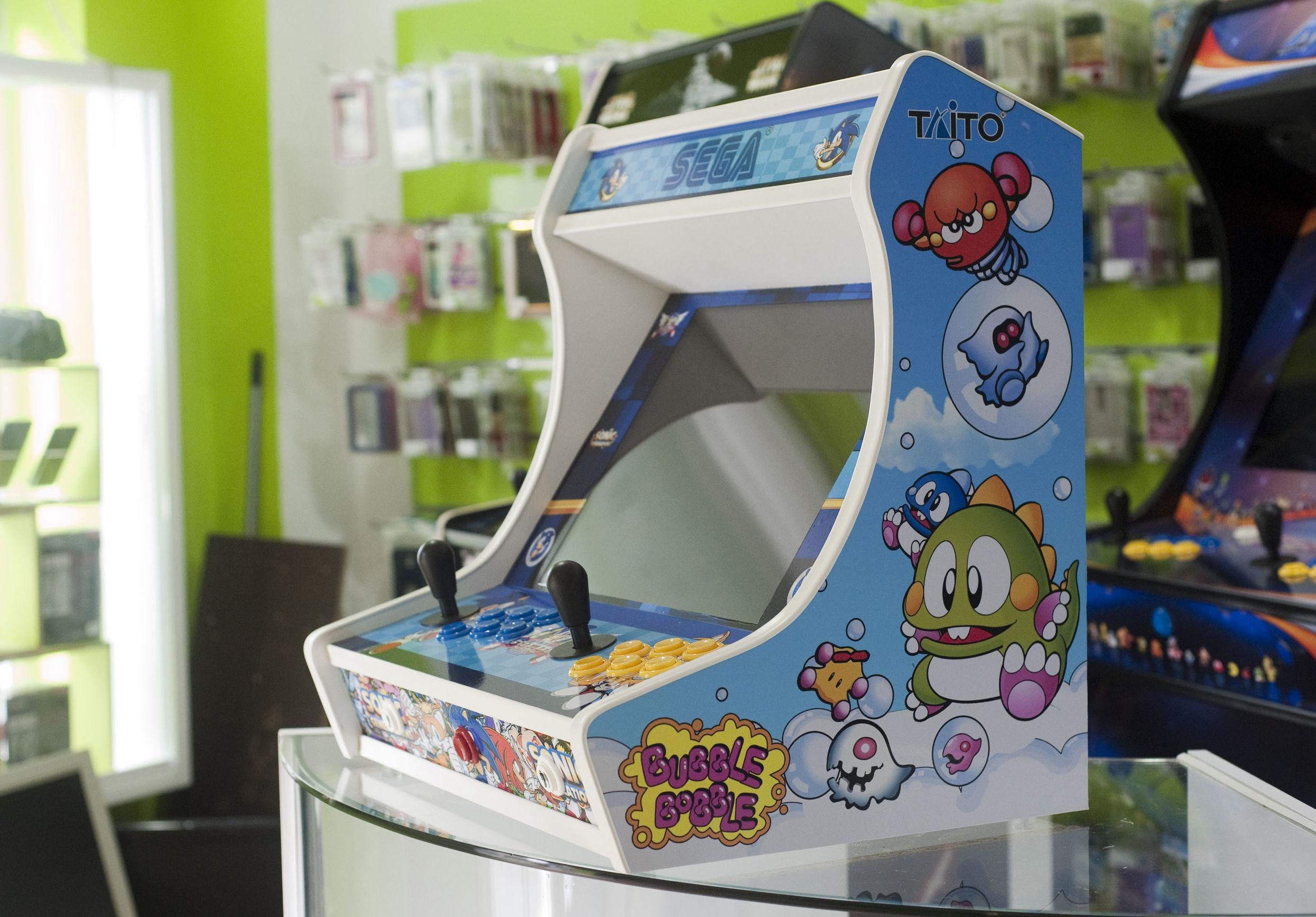 Fabricación de máquinas Arcade