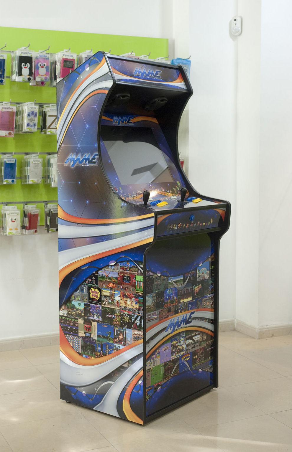Amplia gama de máquinas recreativas