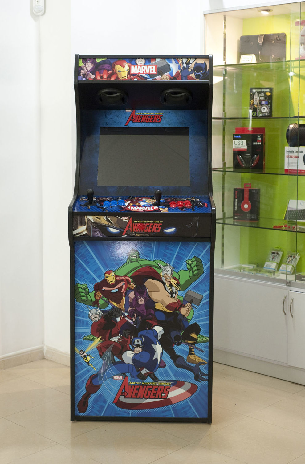 Máquina Arcade para dos jugadores