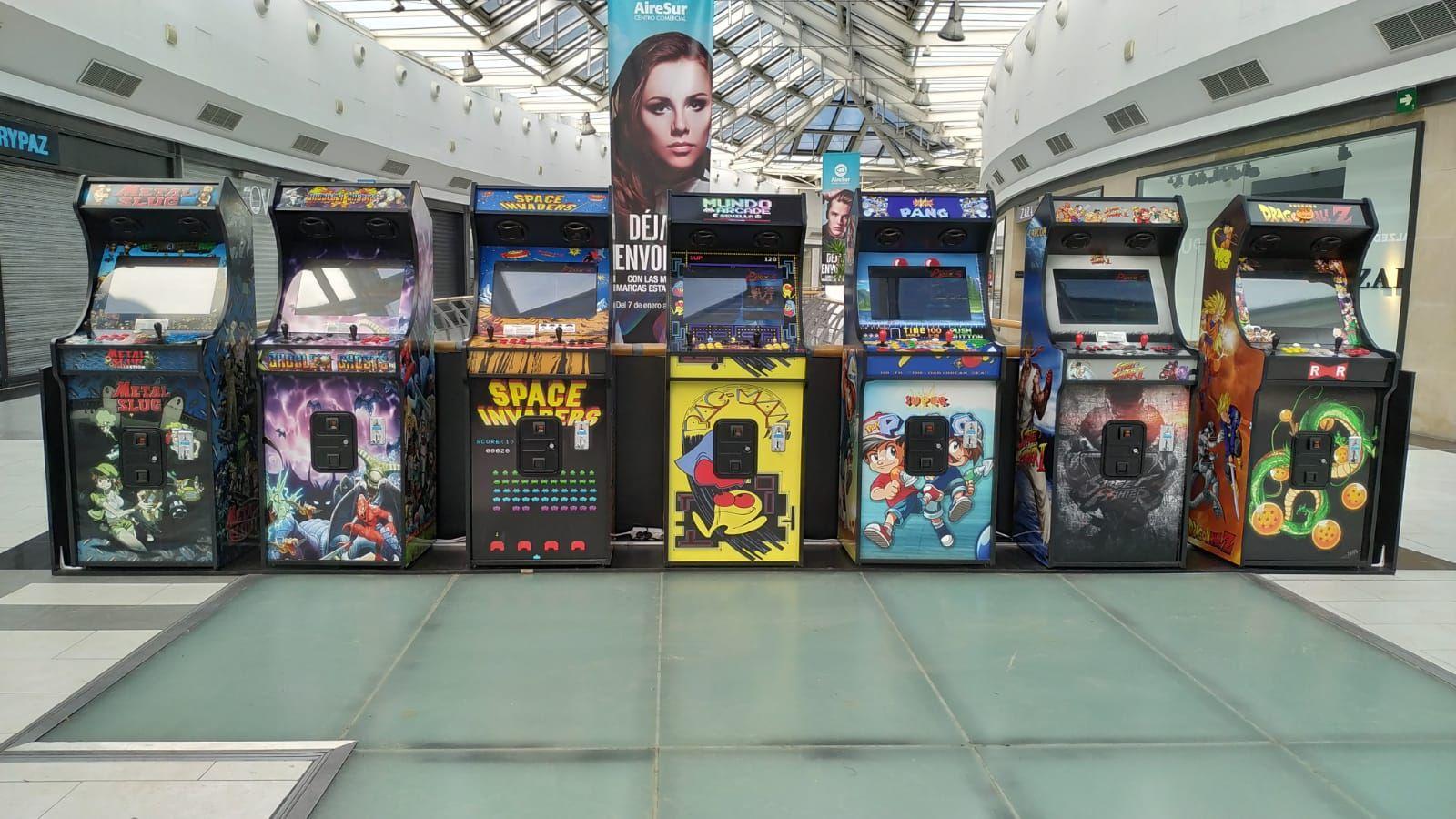 Foto 1 de Fabricación personalizada de máquinas Arcade en Sevilla | Mundo Arcade Sevilla
