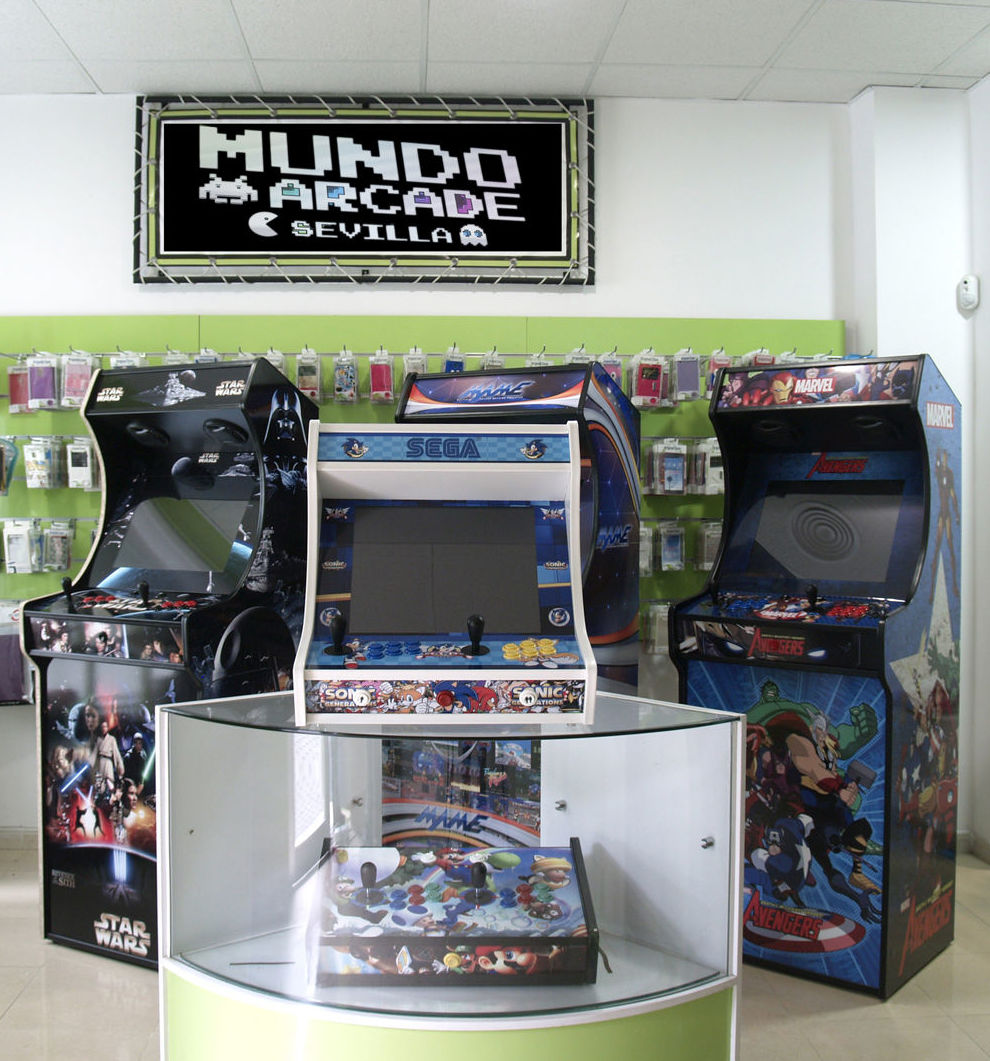 Foto 22 de Fabricación personalizada de máquinas Arcade en Sevilla | Mundo Arcade Sevilla