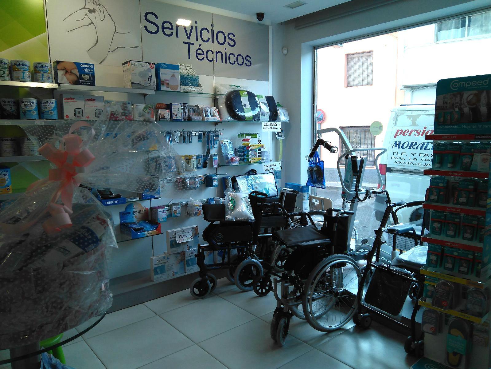 Ortopedia y ayudas técnicas en Moraleja, Cáceres