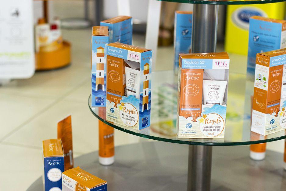 Productos de protección solar en Farmacia Bueno, Moraleja