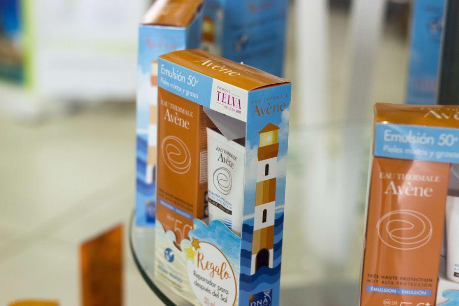 Cremas solares de Avène en Farmacia Bueno, Moraleja