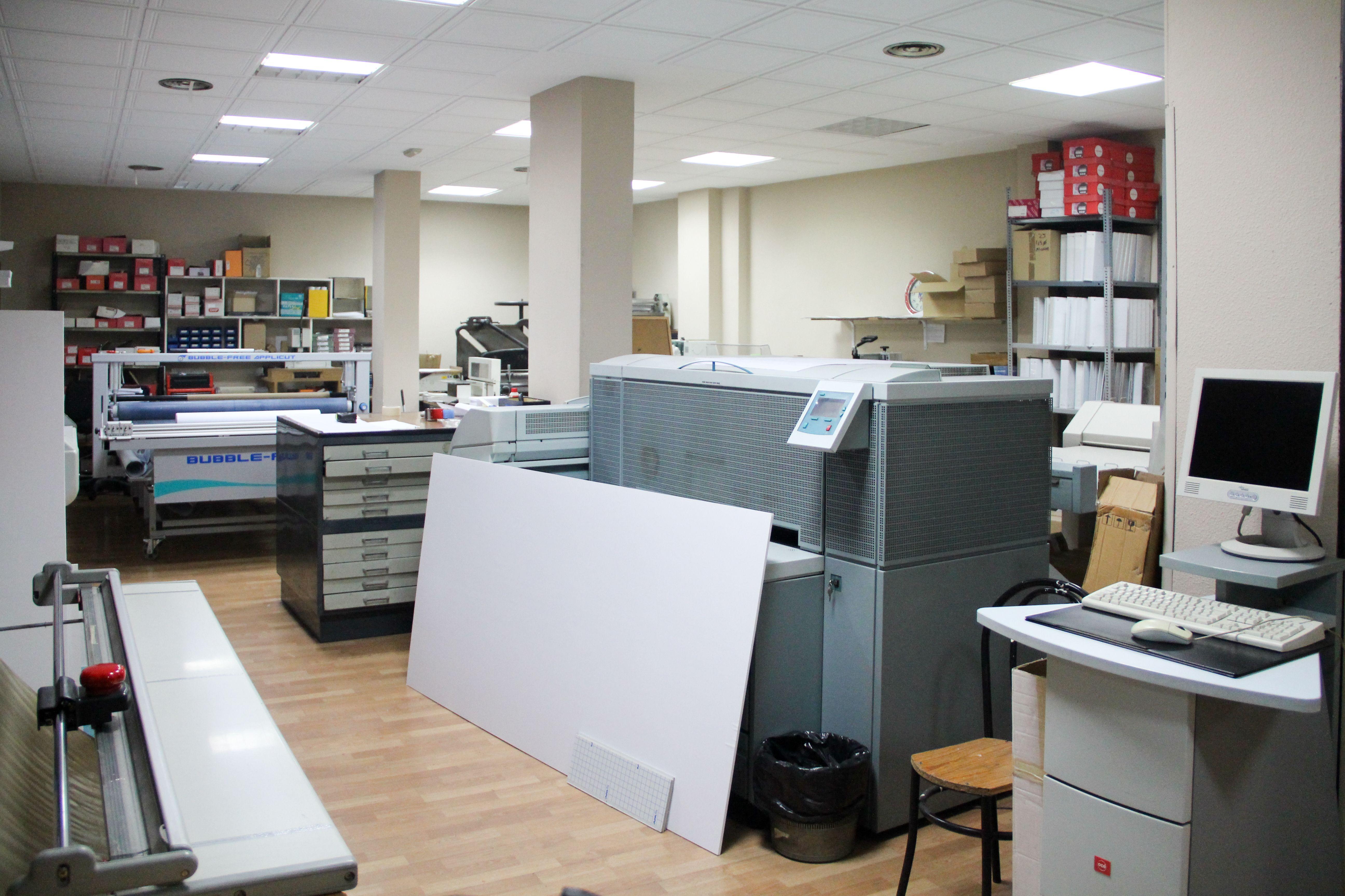 Servicio de reprografía eficaz y creativo en Madrid