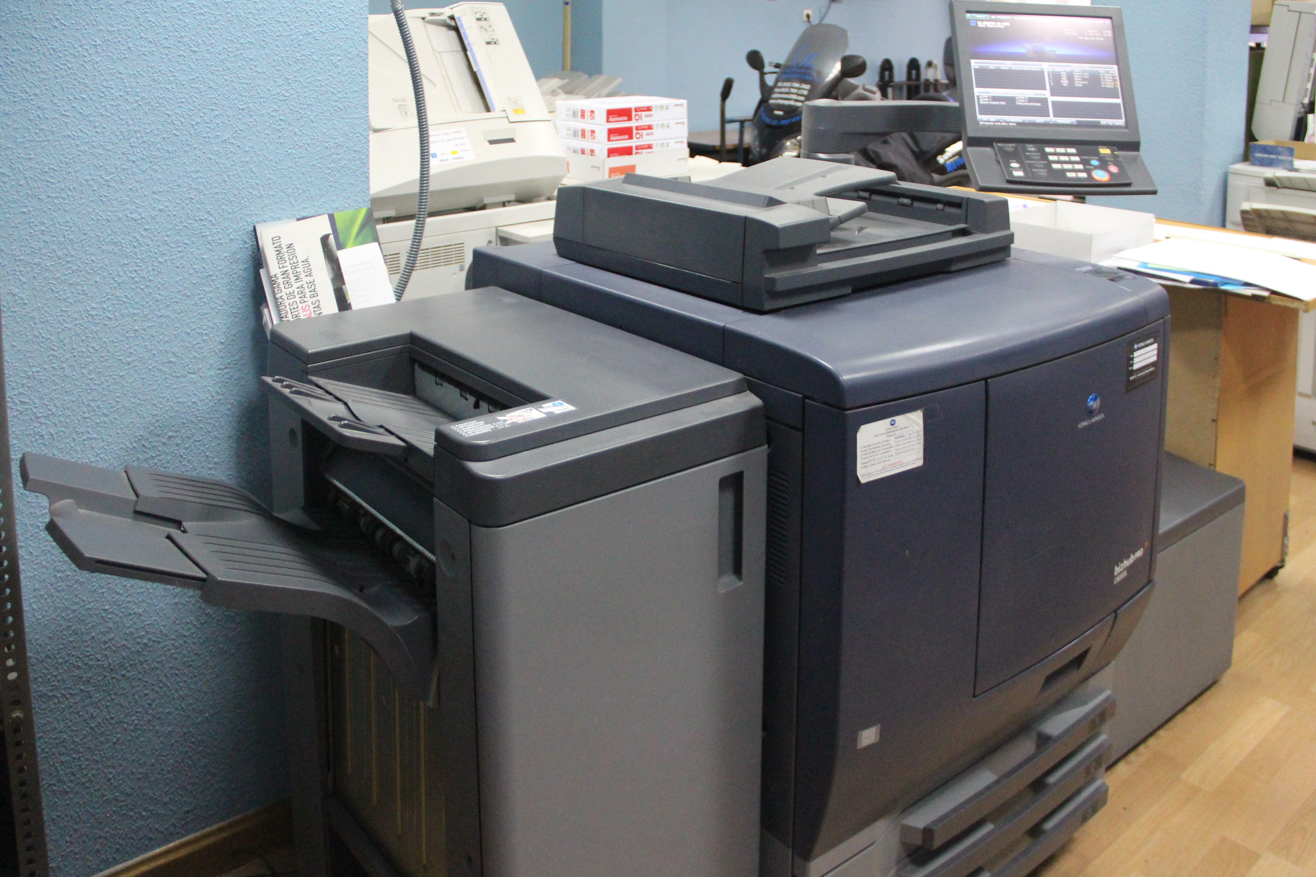 Obtenemos copias tanto en blanco y negro como en color. CSL Reprografía