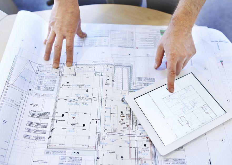 Impresión de planos en Madrid centro