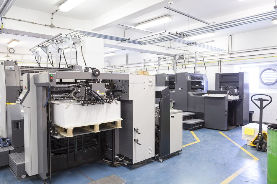 Imprentas en Tetuán, Madrid