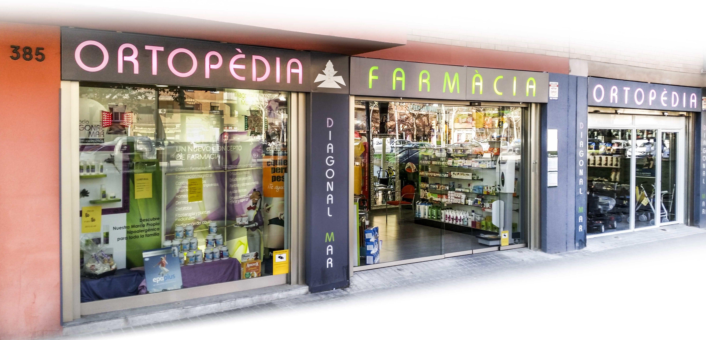 99894b393a2 Tienda  Productos de Farmacia   Ortopèdia Diagonal Mar