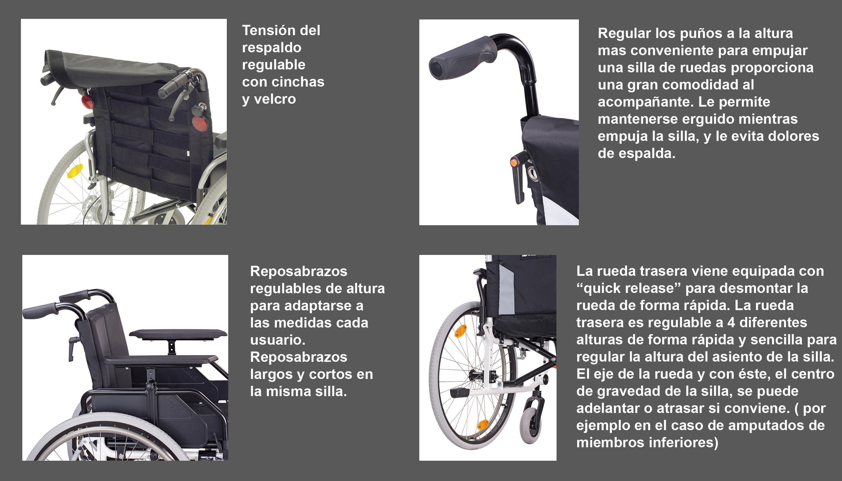 De Silla Ortopèdia Diagonal SProductos Aluminio Gran Caneo Farmacia Mar Ruedas Calidad 0OPnwk
