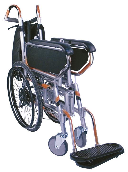Silla de ruedas plegable xxl minimax productos de farmacia ortop dia diagonal mar - Sillas de ruedas plegables y ligeras ...