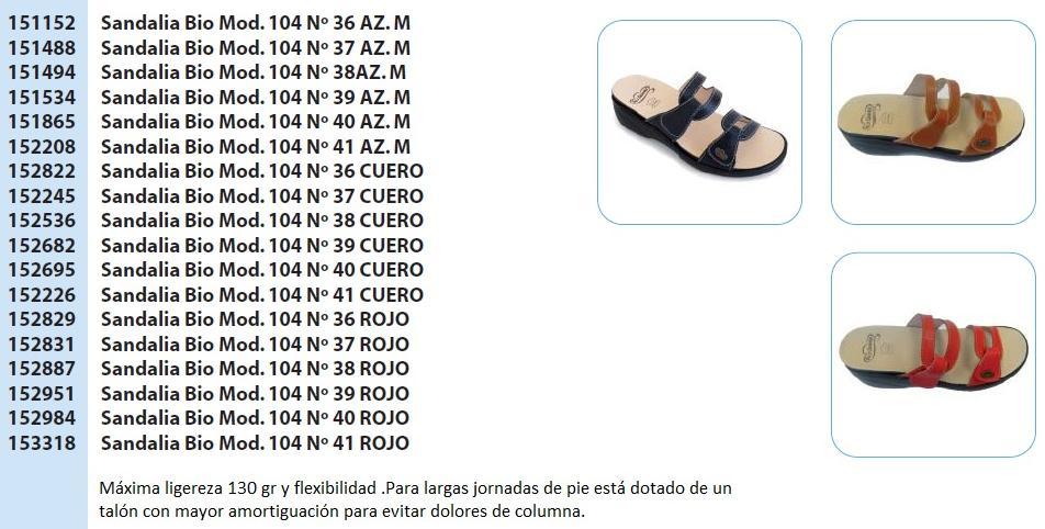 cb452af8e0d Sandalias cómodas y flexibles Bio  Productos de Farmacia   Ortopèdia ...