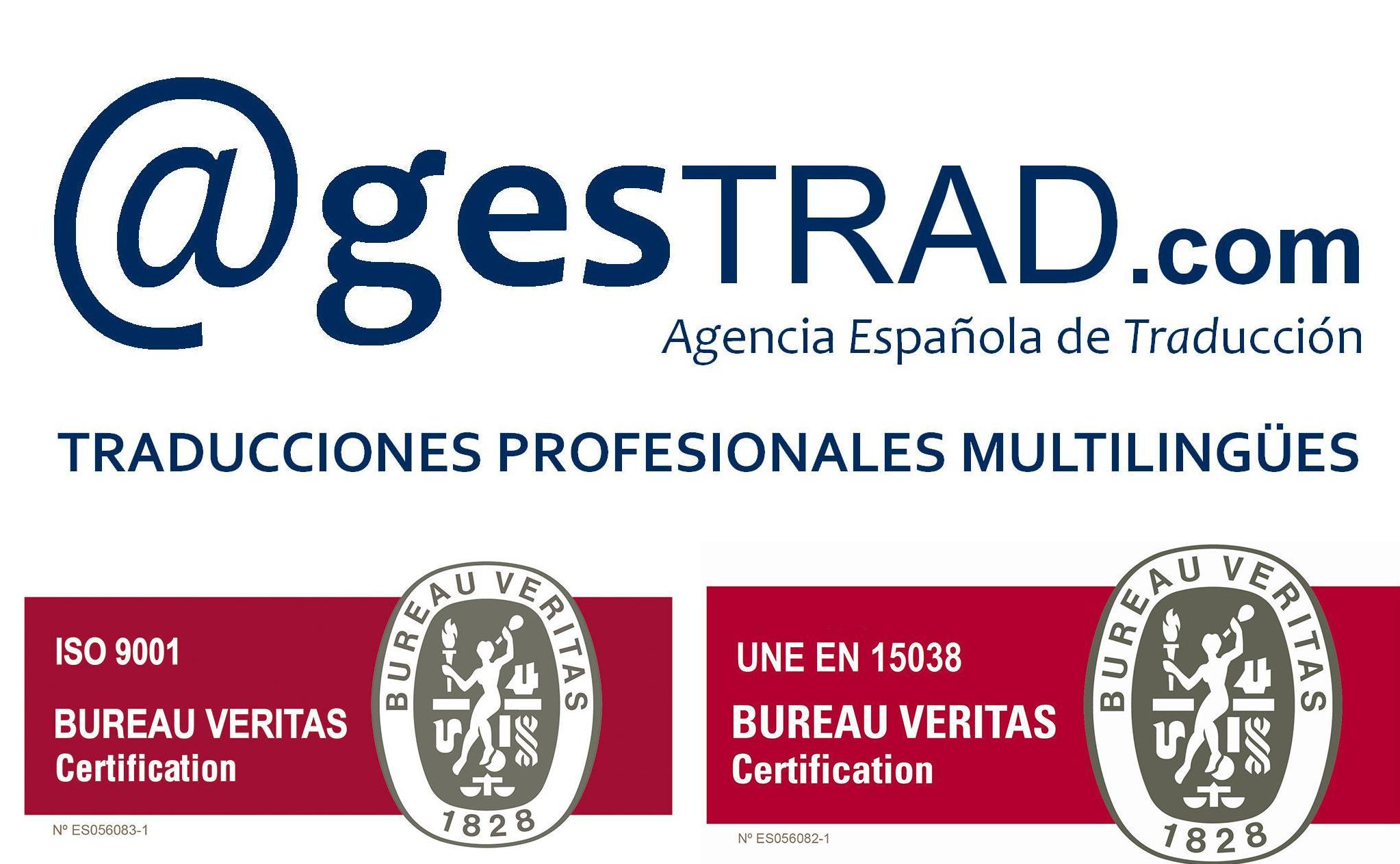 Norma de Calidad ISO para la Agencia Española de Traducción Agestrad