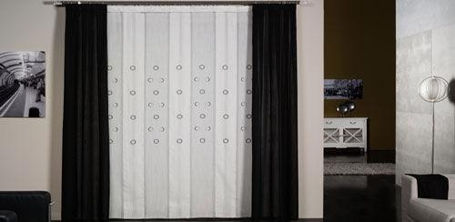 Gran variedad de tejidos y colores en cortinas