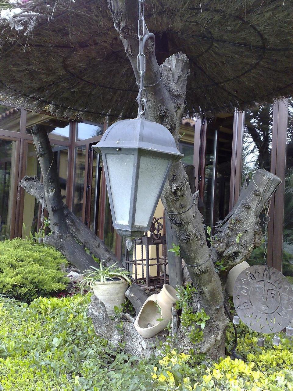 Iluminación de jardines