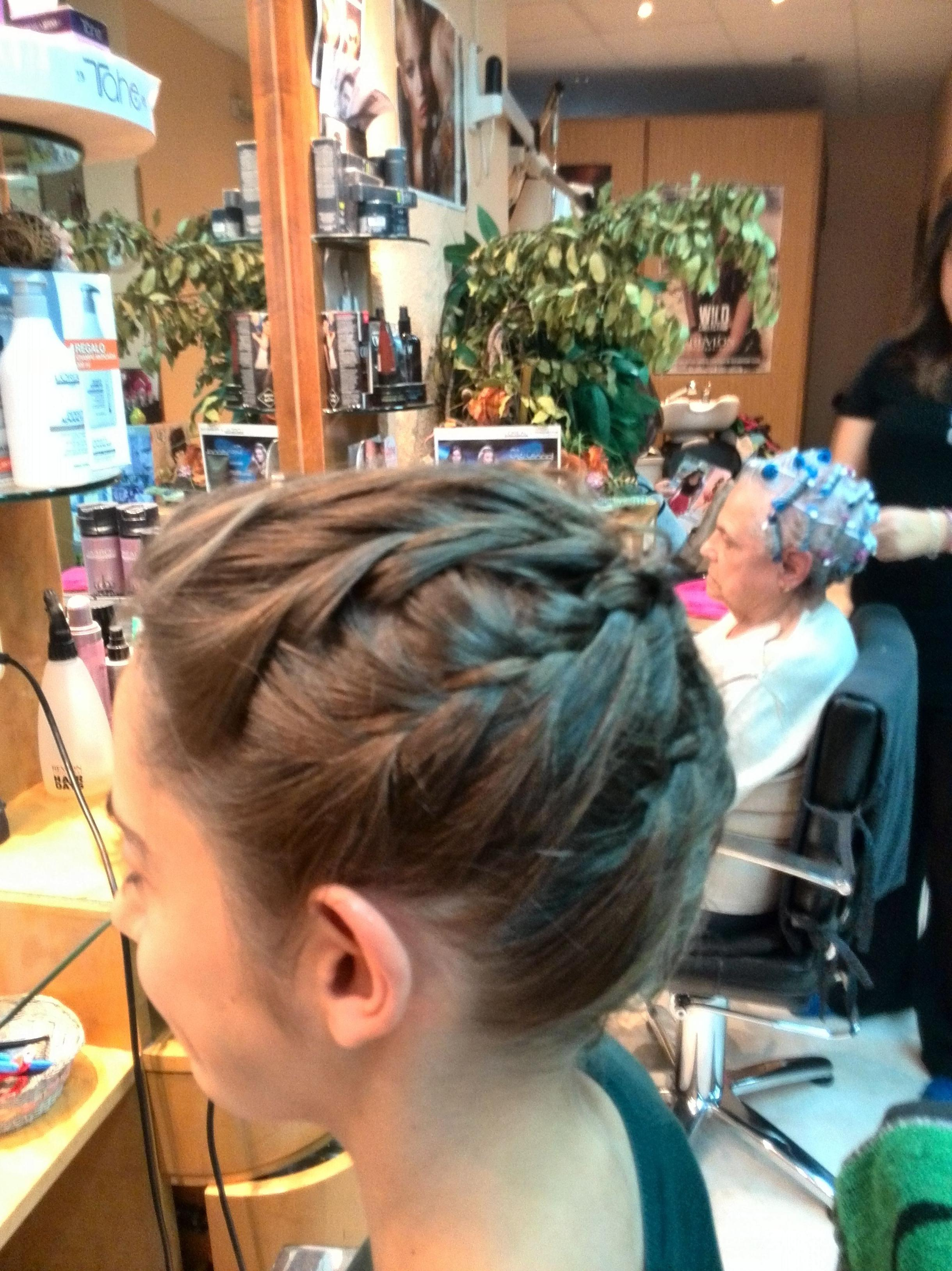 Peinados innovadores