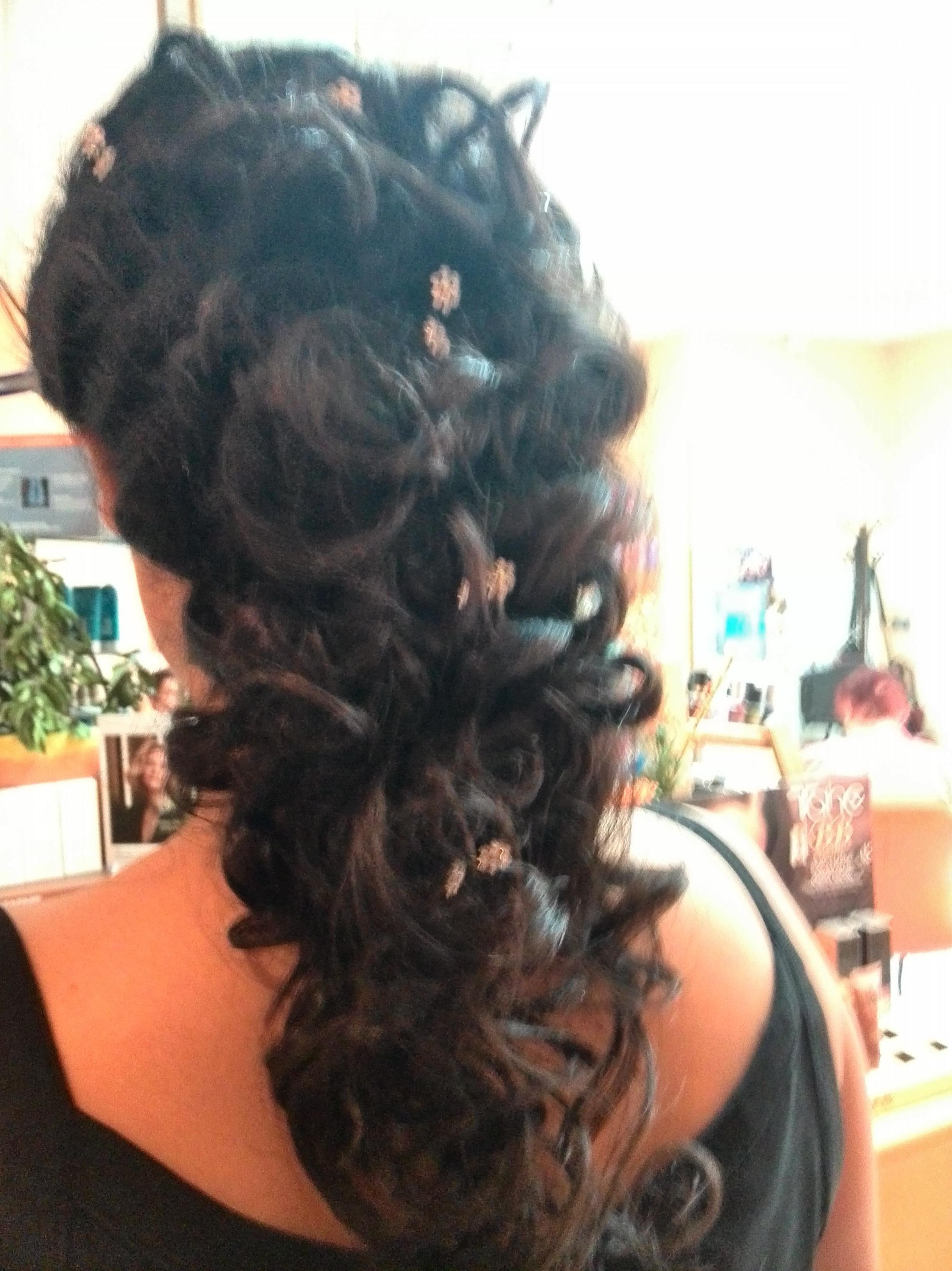 Peinados con estilo para novias