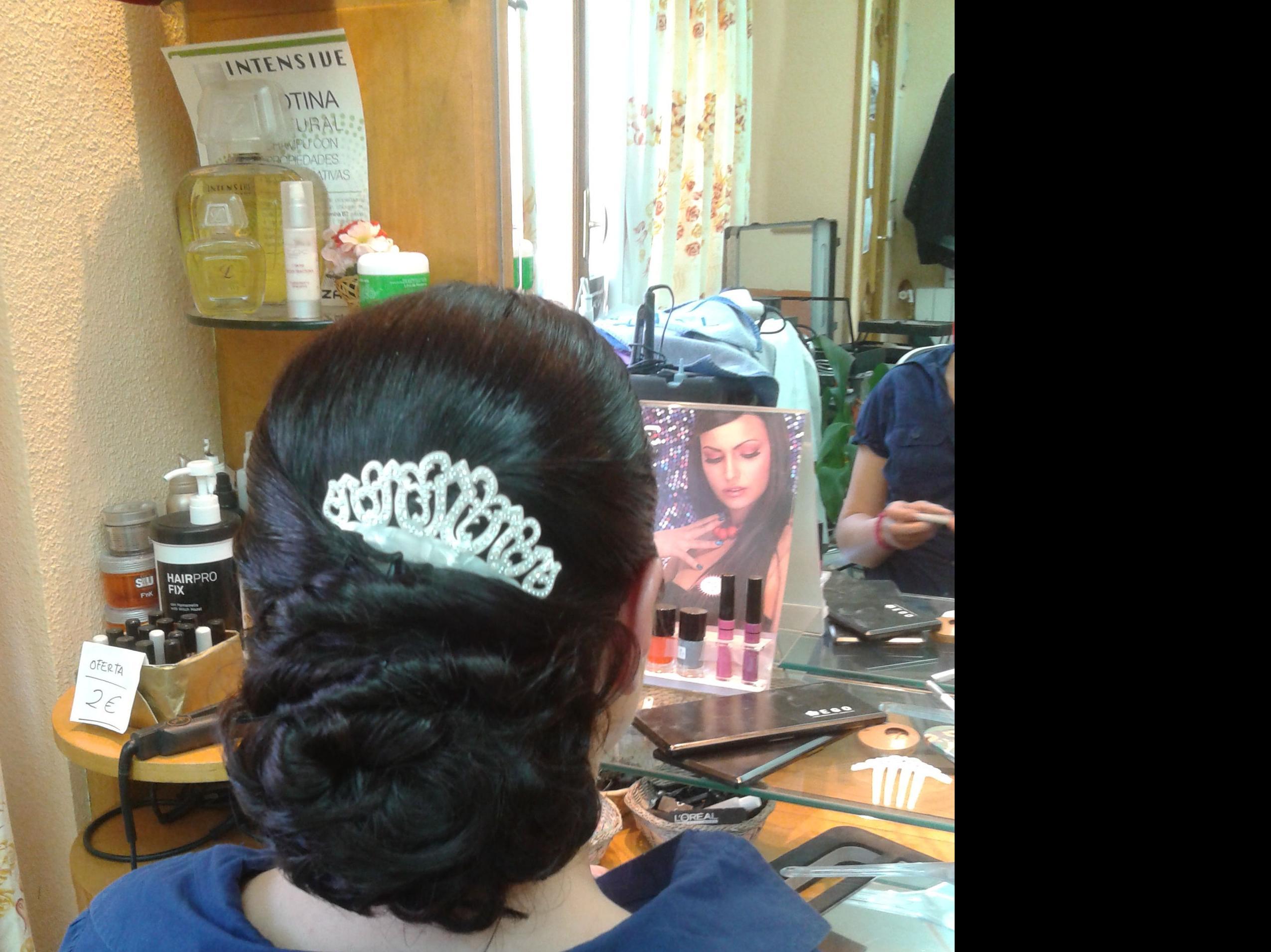 Peinados para madrinas