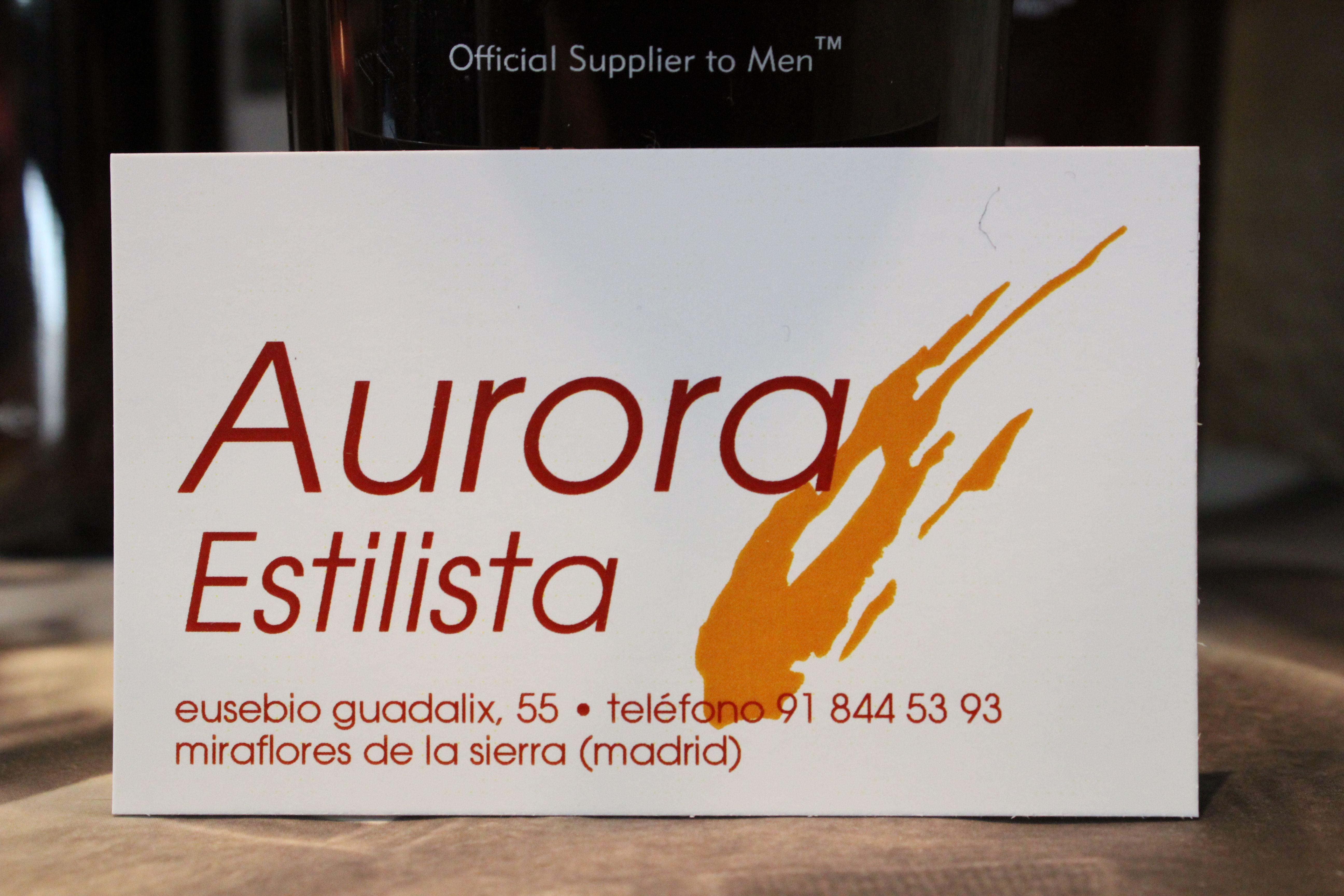 Foto 1 de Peluquería mujer-hombre en Miraflores de la Sierra | Aurora Estilista