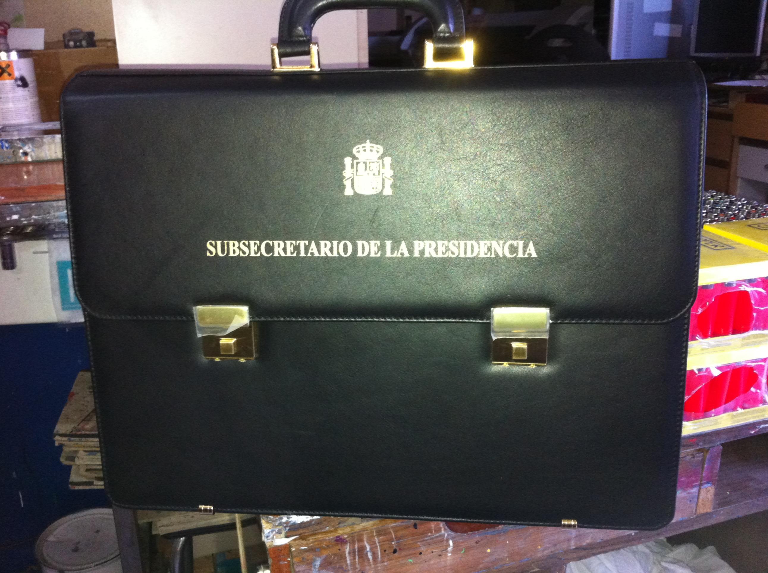 Impresión en maletines