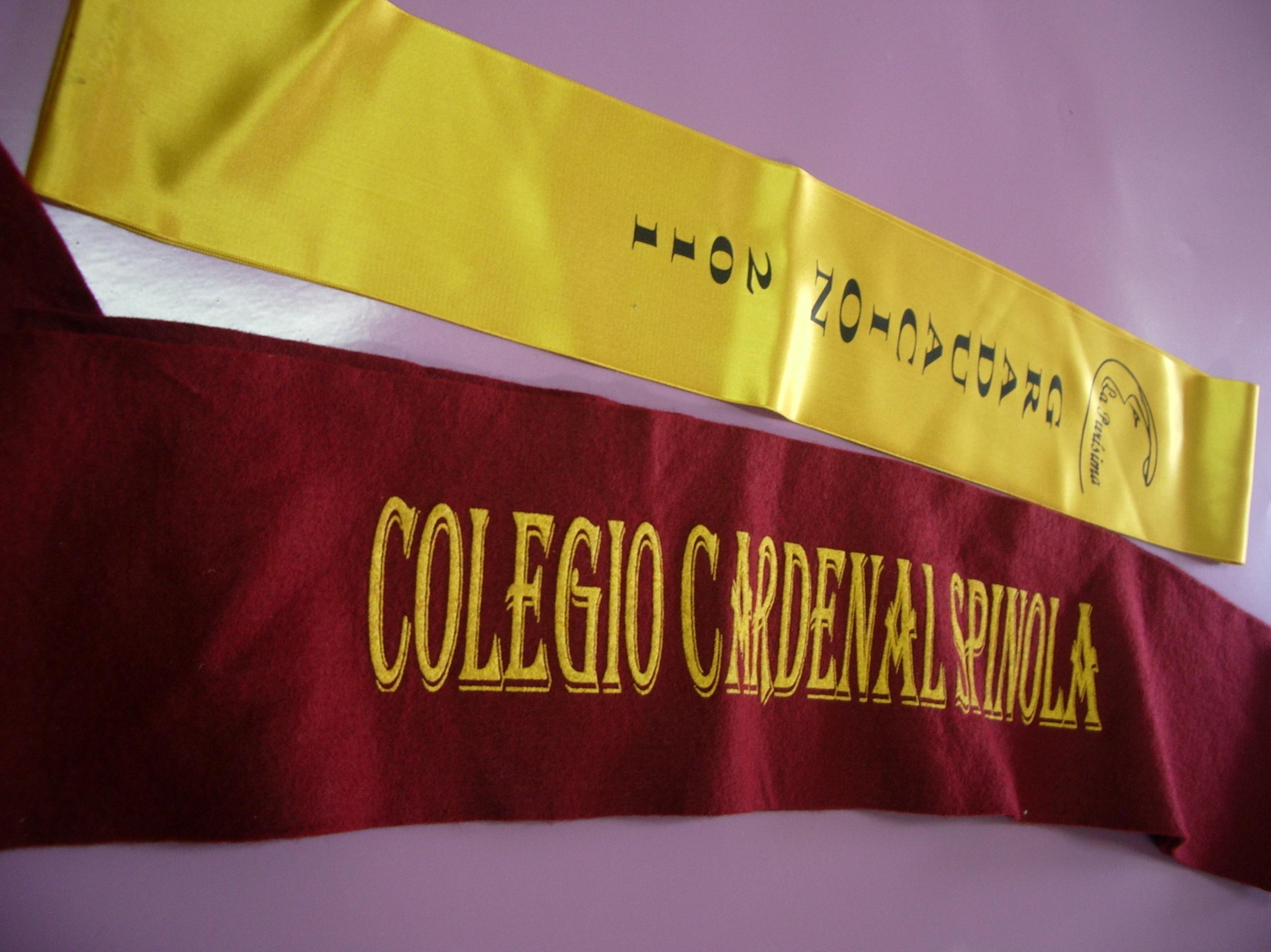 Bandas graduación de diferentes materiales
