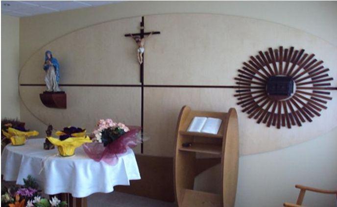 Capilla maristas en Navarra