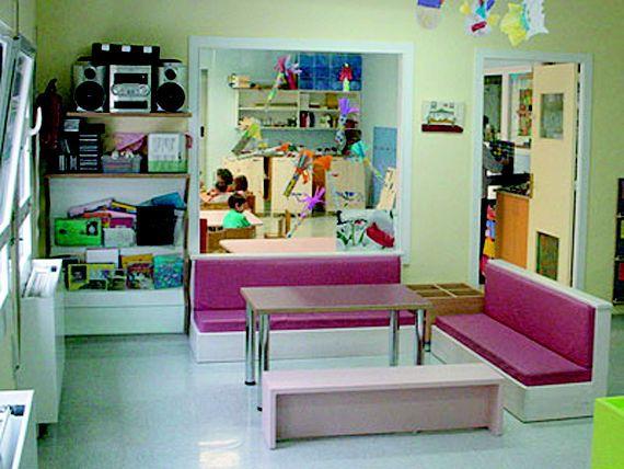 Mueble a medida para guarderías en Tajonar