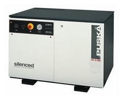 Compresores de pistón serie industrial - insonorizados sobre depósito independiente 1 etapa