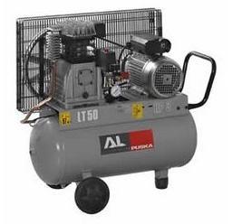 Compresores pistón serie aluminium móviles regulación mecánica