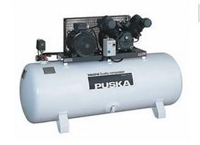 Compresores de pistón serie Industrial - estacionarios 2 etapas a 10kg de presión