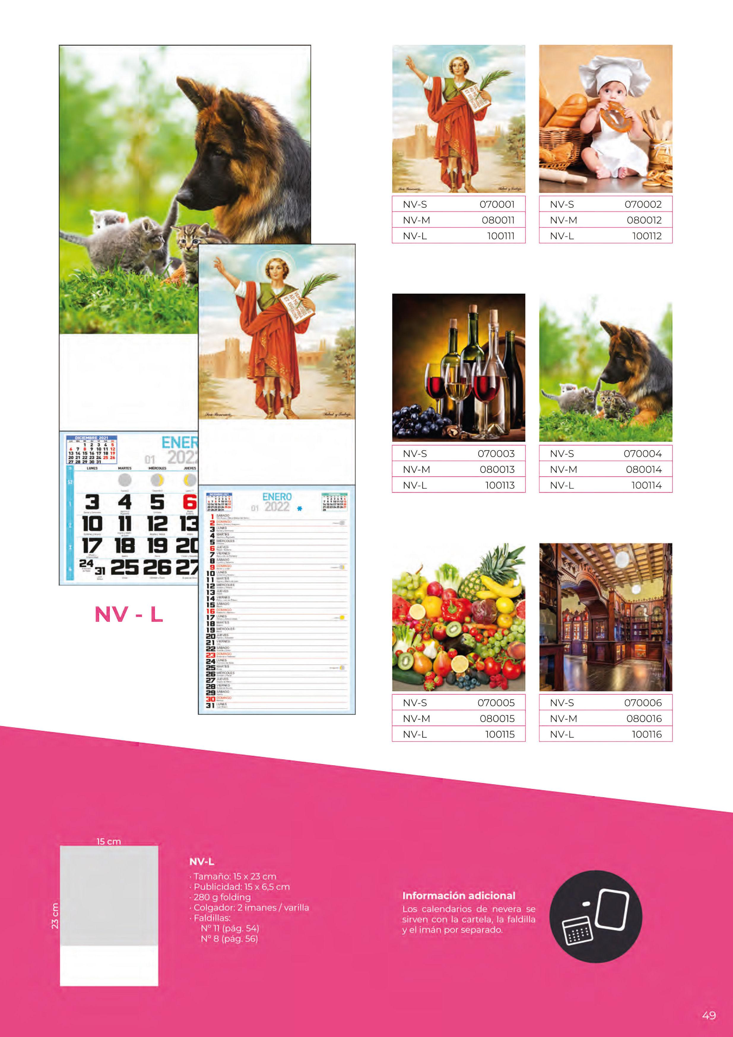 Foto 316 de Calendarios en Madrid | Gráficas Kalendex