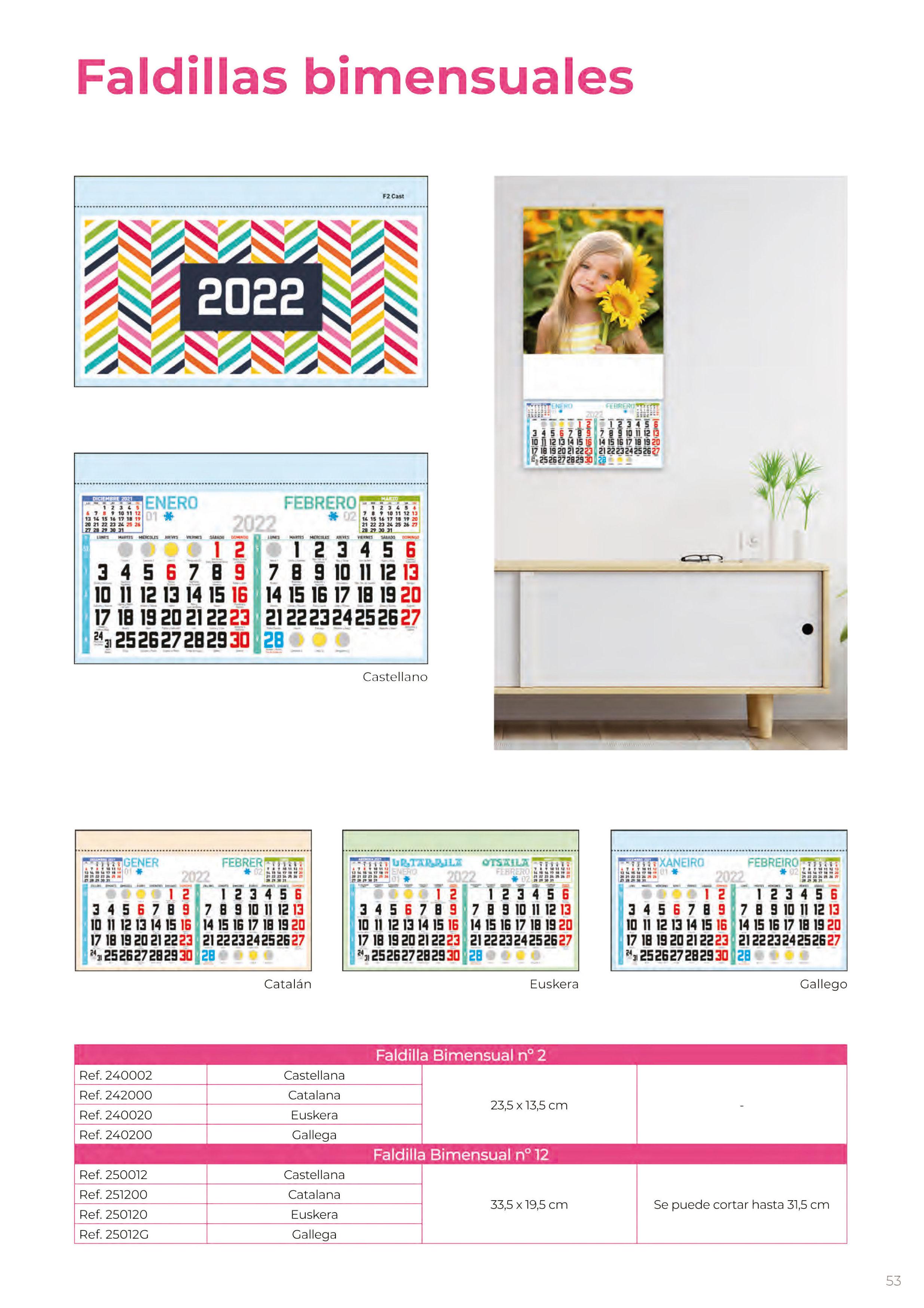 Foto 320 de Calendarios en Madrid | Gráficas Kalendex