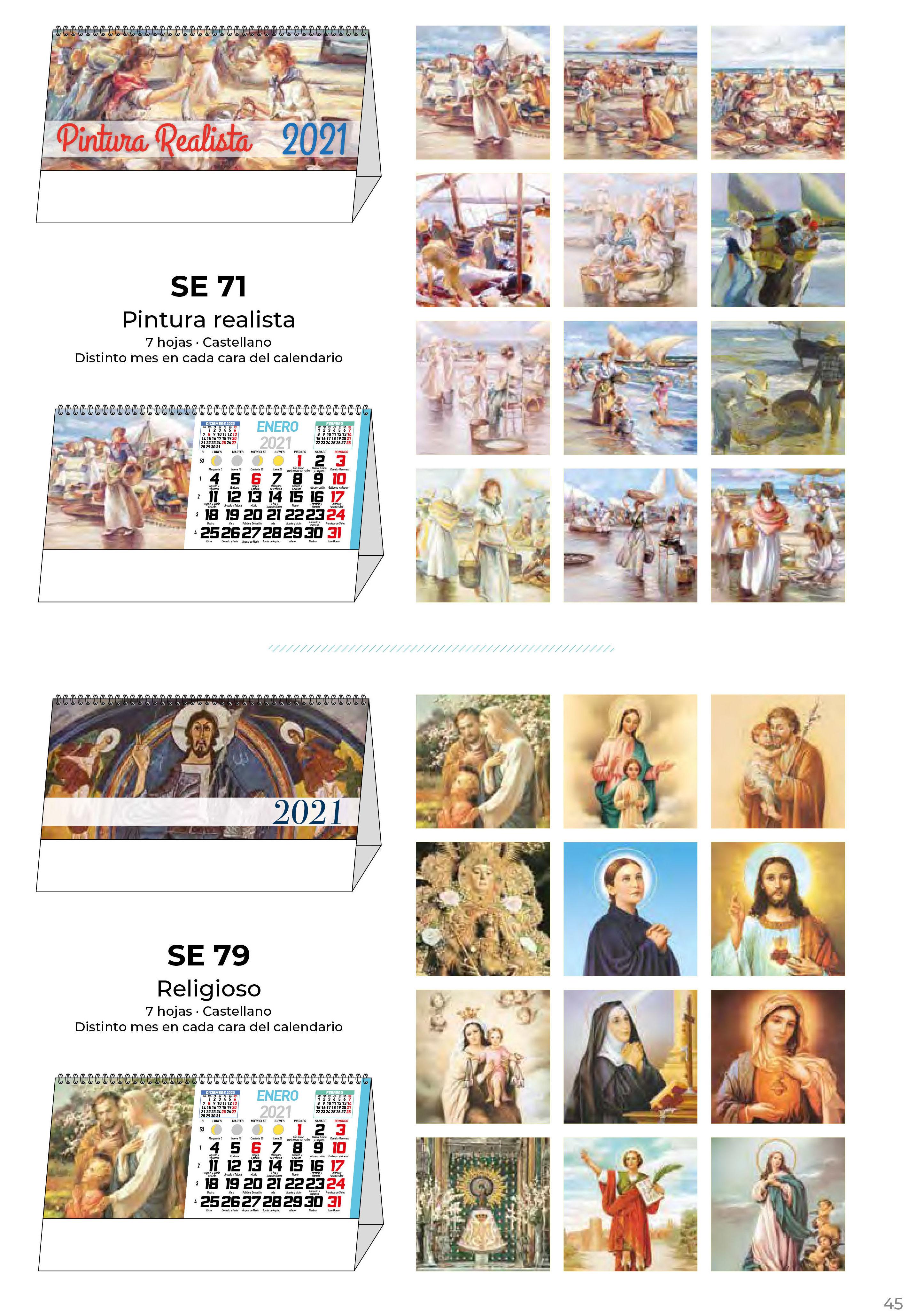 Foto 47 de Calendarios en Madrid | Gráficas Kalendex