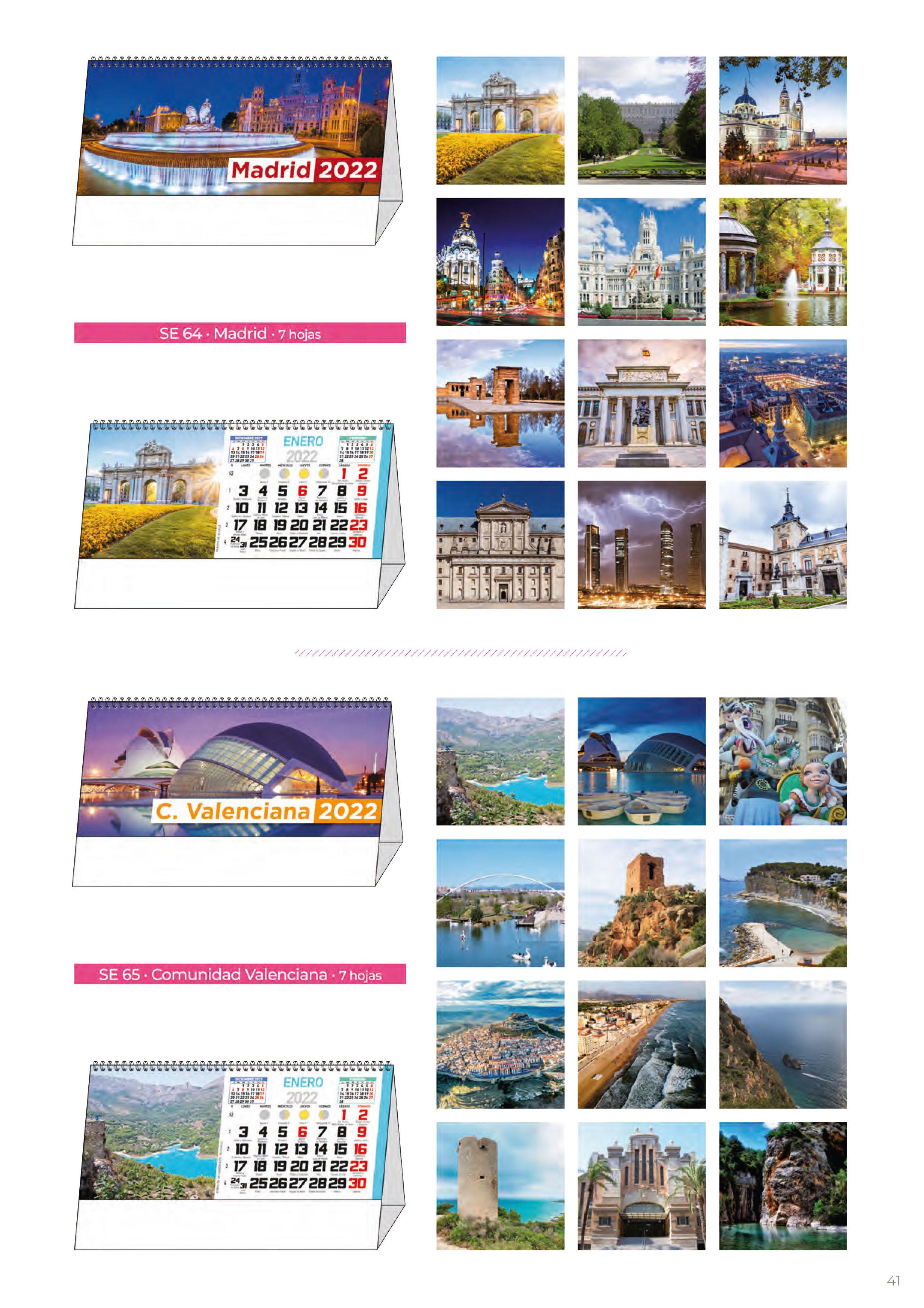 Foto 308 de Calendarios en Madrid | Gráficas Kalendex
