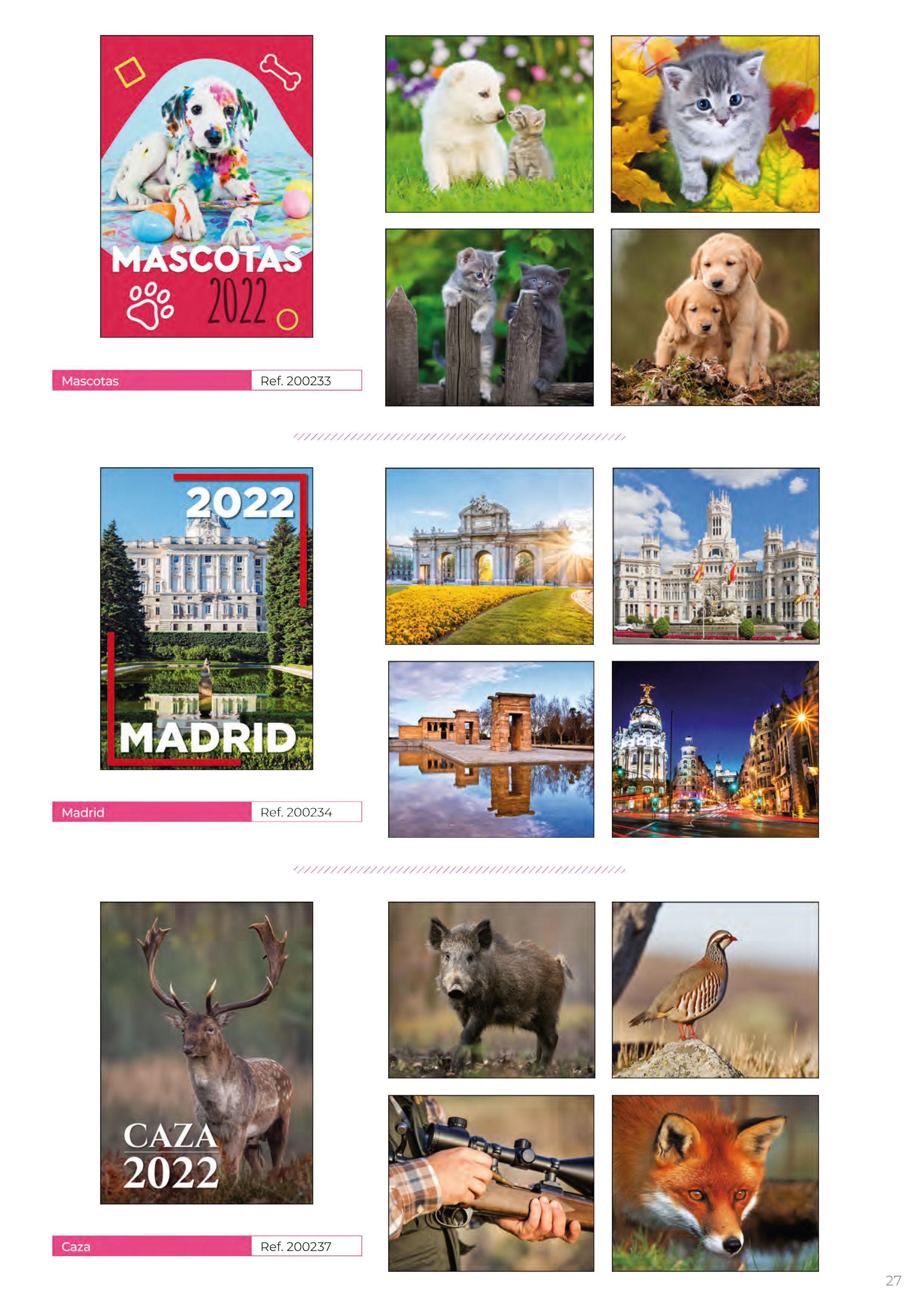 Foto 294 de Calendarios en Madrid | Gráficas Kalendex