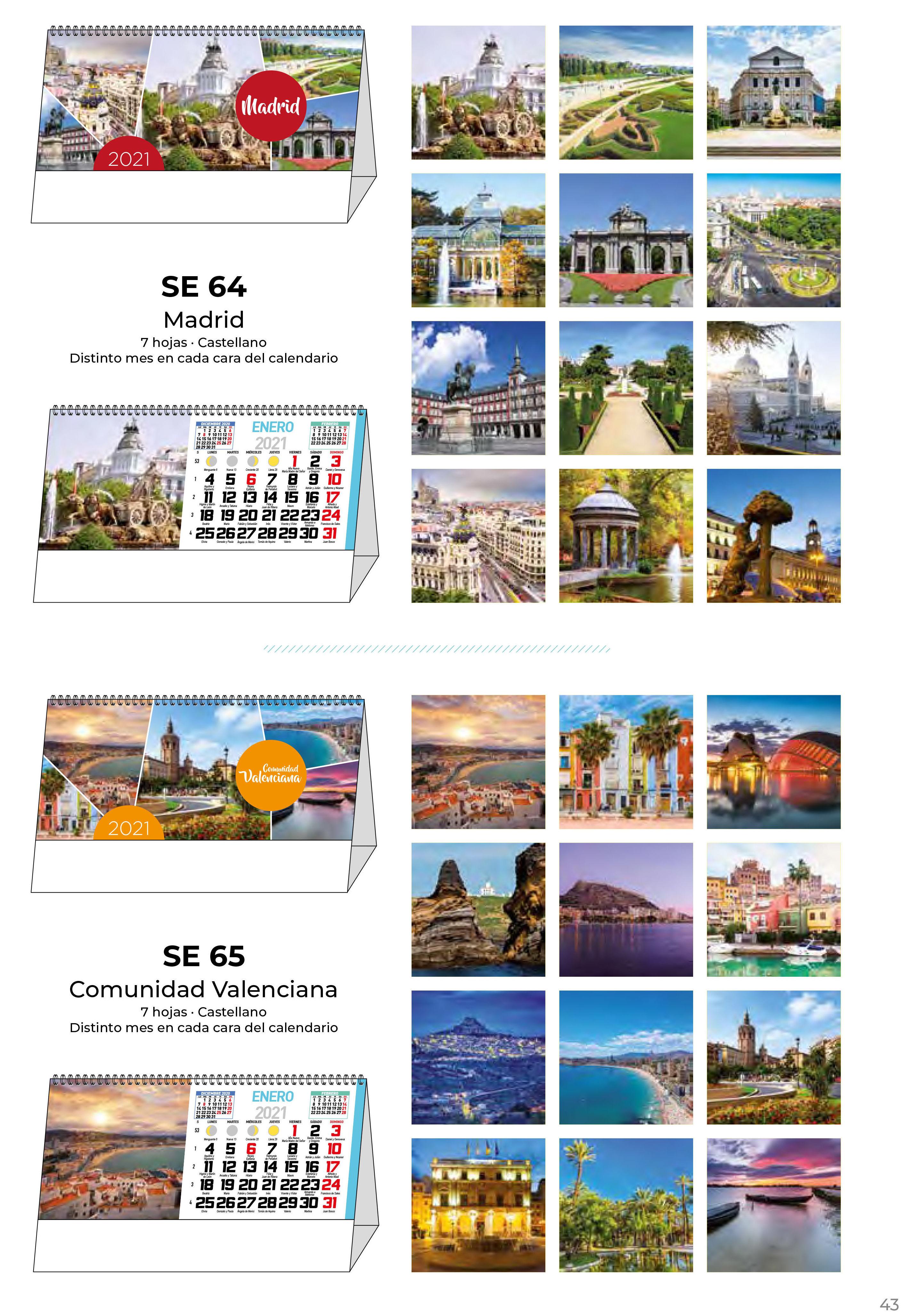 Foto 45 de Calendarios en Madrid   Gráficas Kalendex