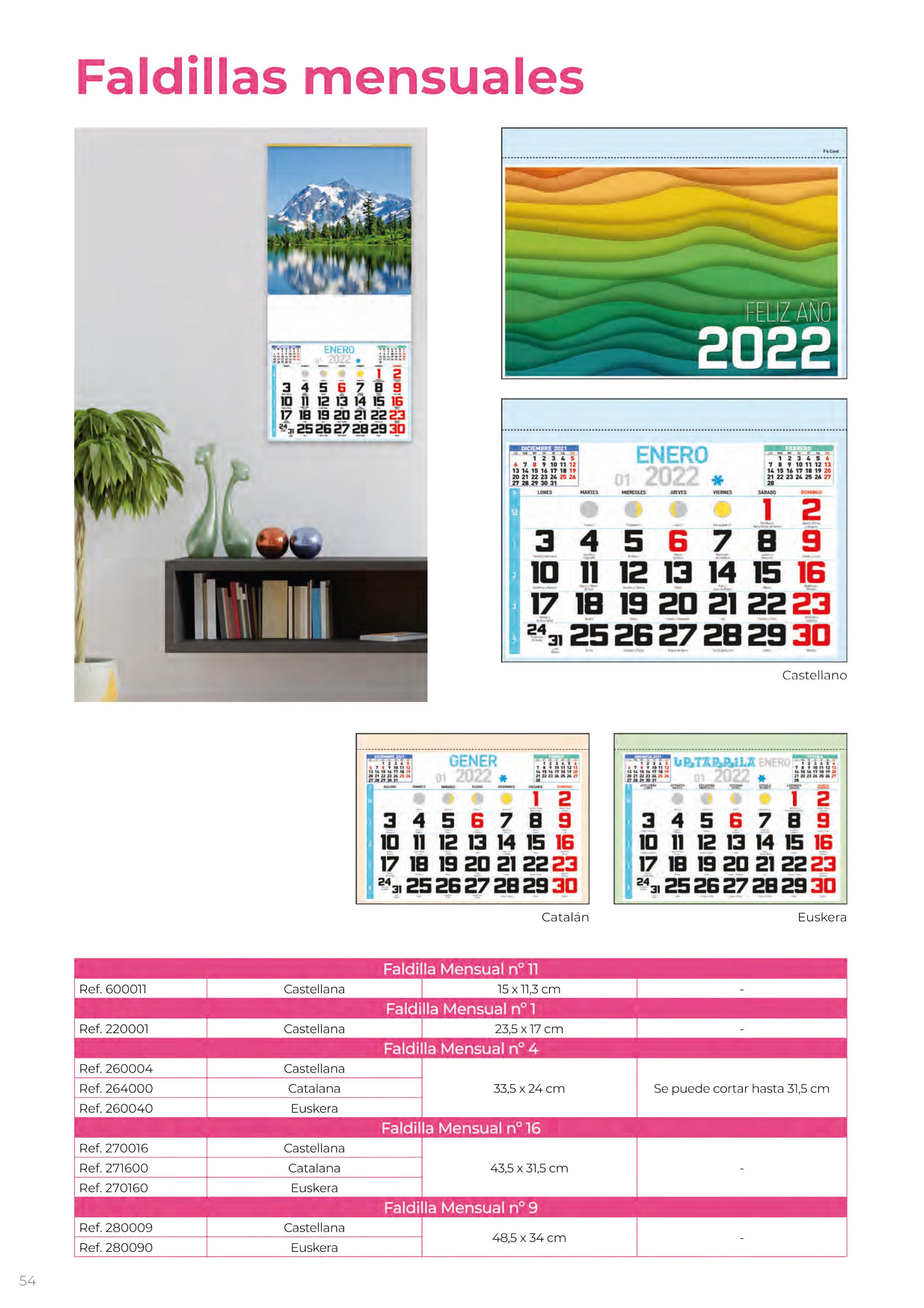 Foto 321 de Calendarios en Madrid | Gráficas Kalendex