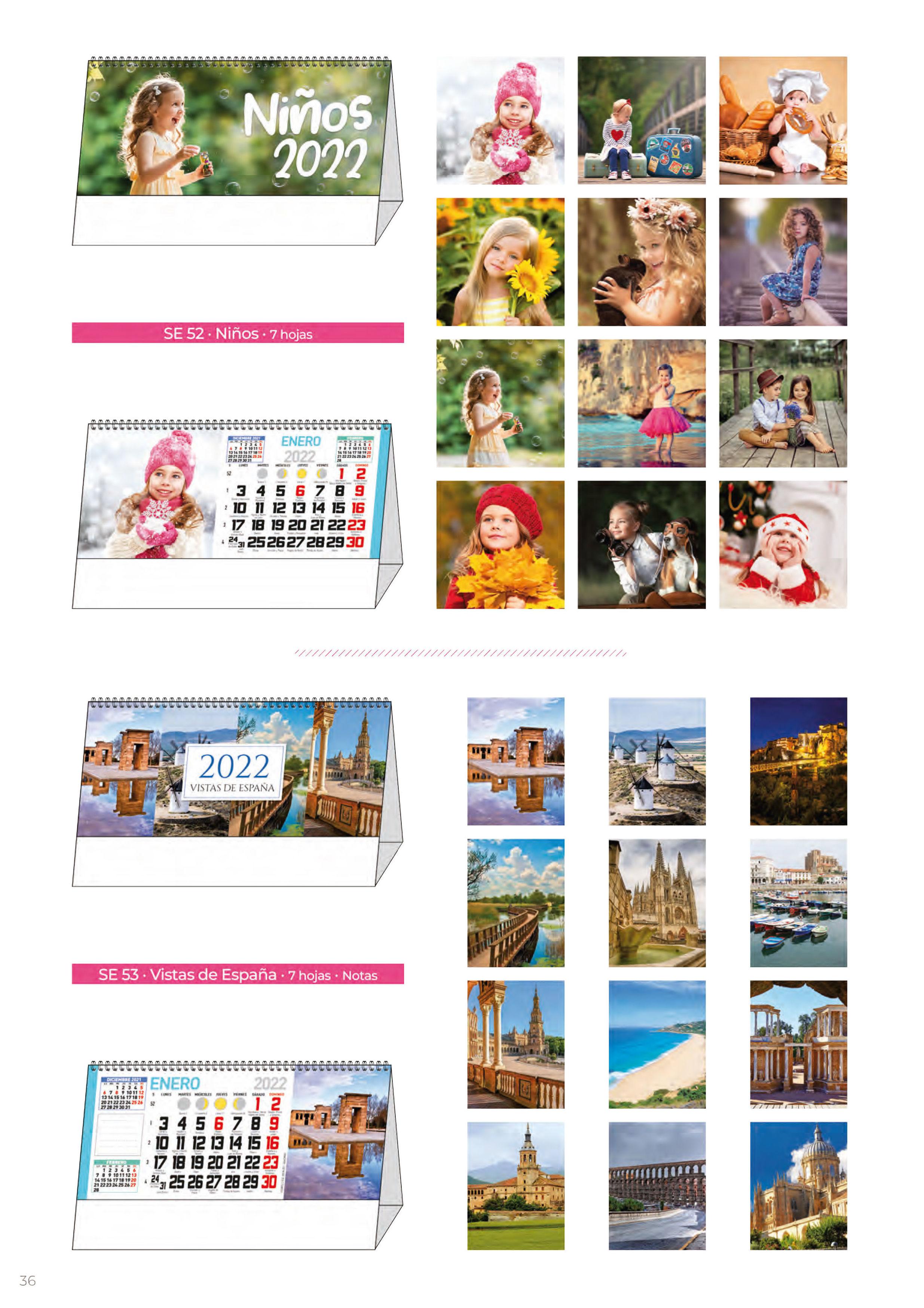 Foto 303 de Calendarios en Madrid | Gráficas Kalendex