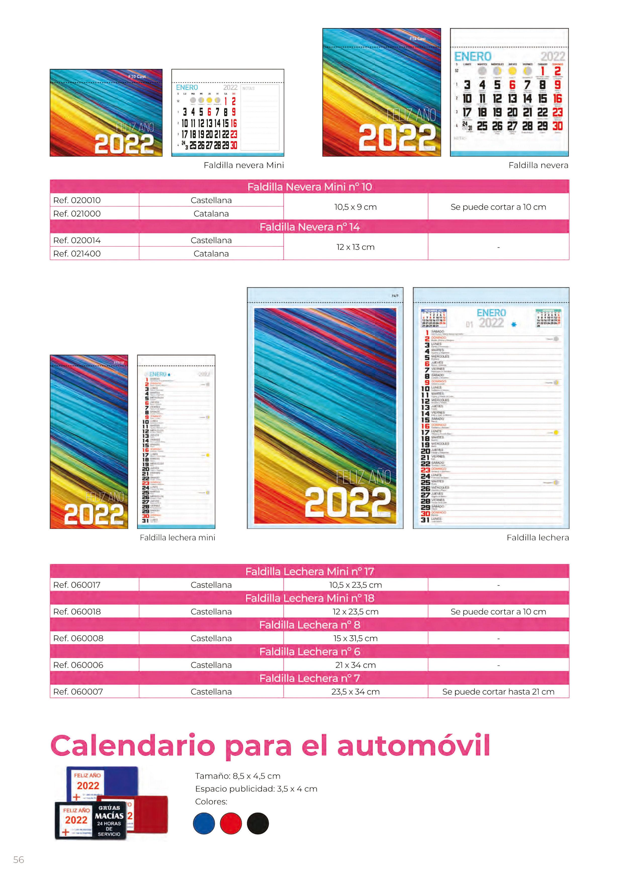Foto 323 de Calendarios en Madrid | Gráficas Kalendex