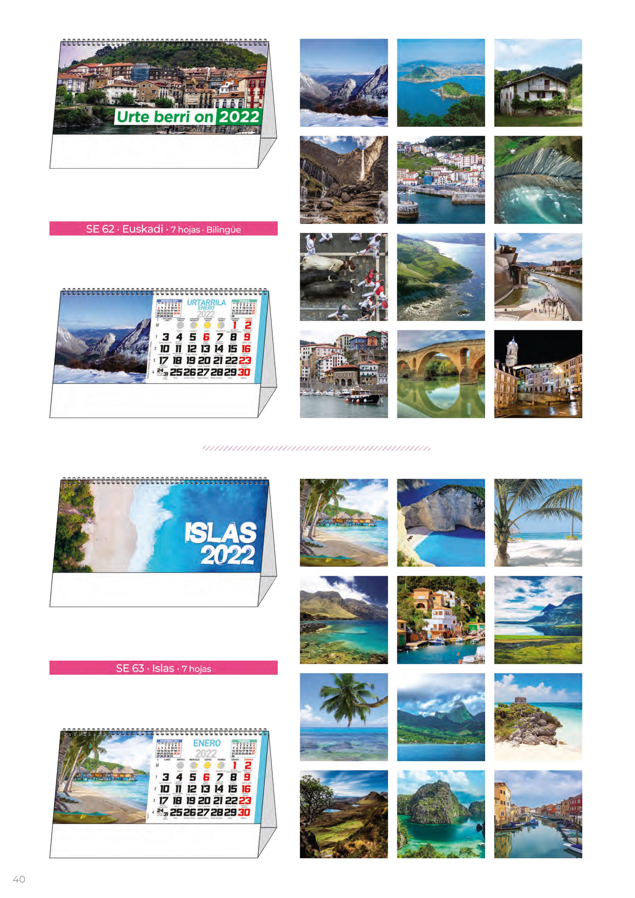 Foto 307 de Calendarios en Madrid | Gráficas Kalendex