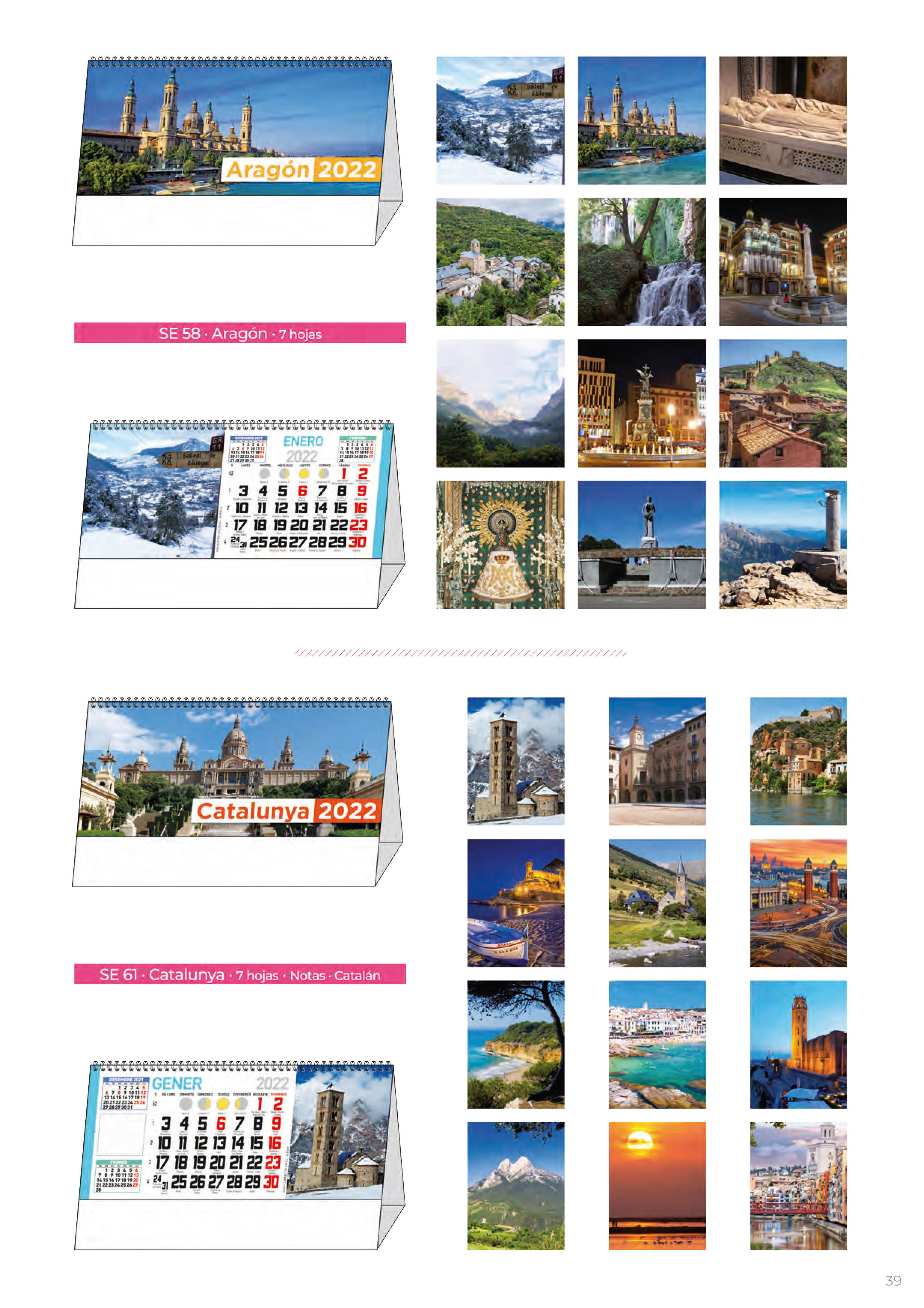 Foto 306 de Calendarios en Madrid | Gráficas Kalendex