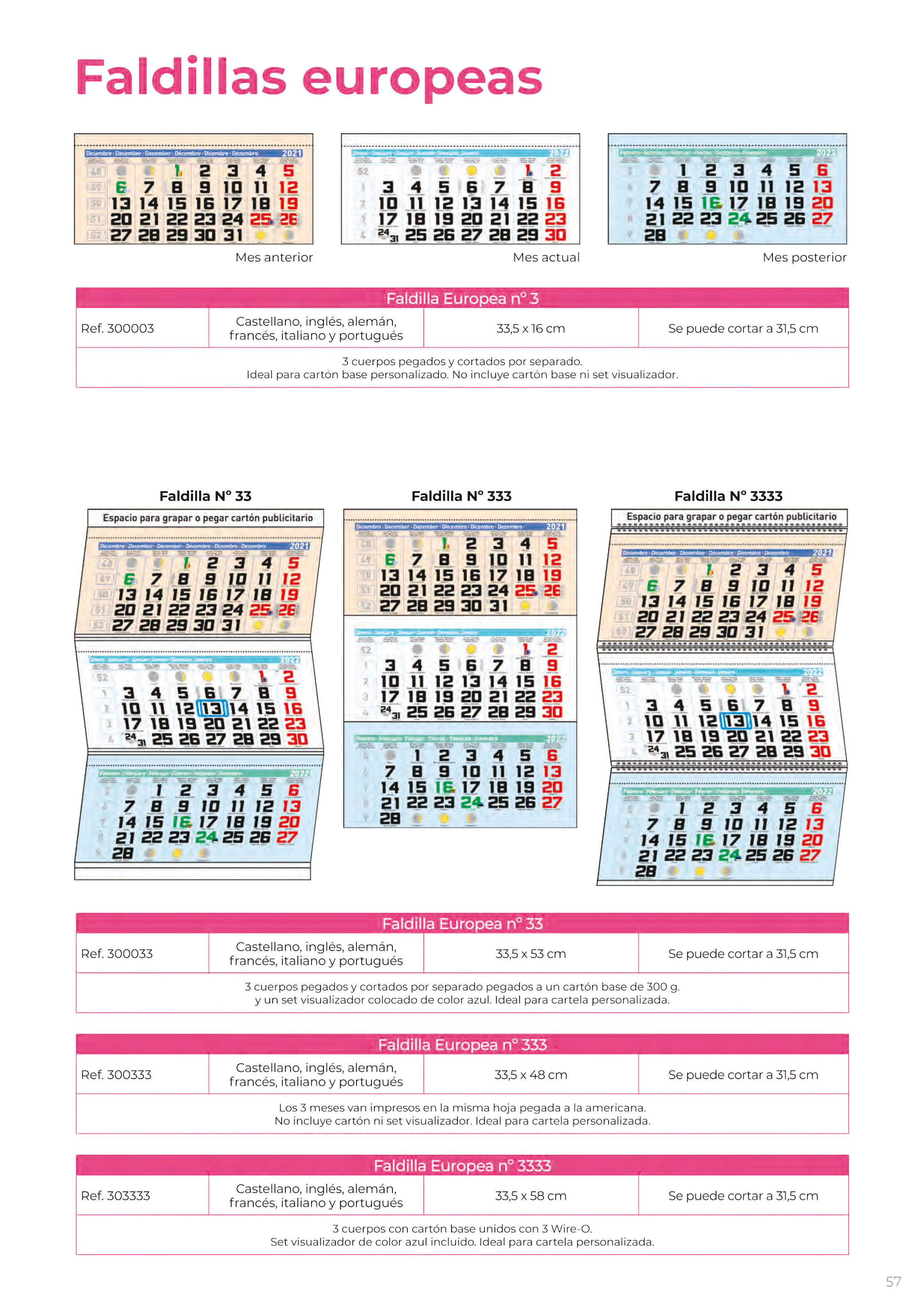 Foto 324 de Calendarios en Madrid | Gráficas Kalendex