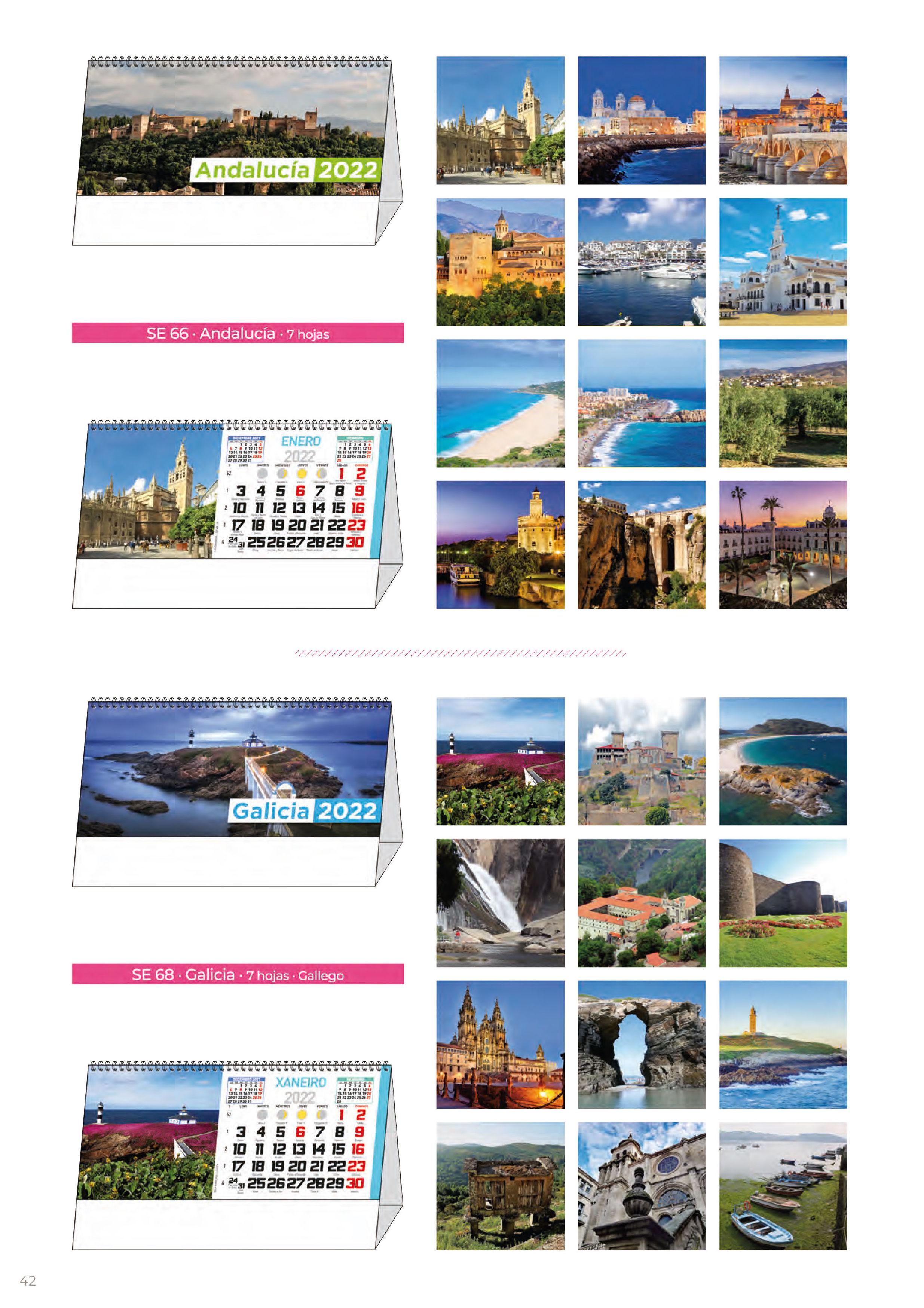 Foto 309 de Calendarios en Madrid | Gráficas Kalendex
