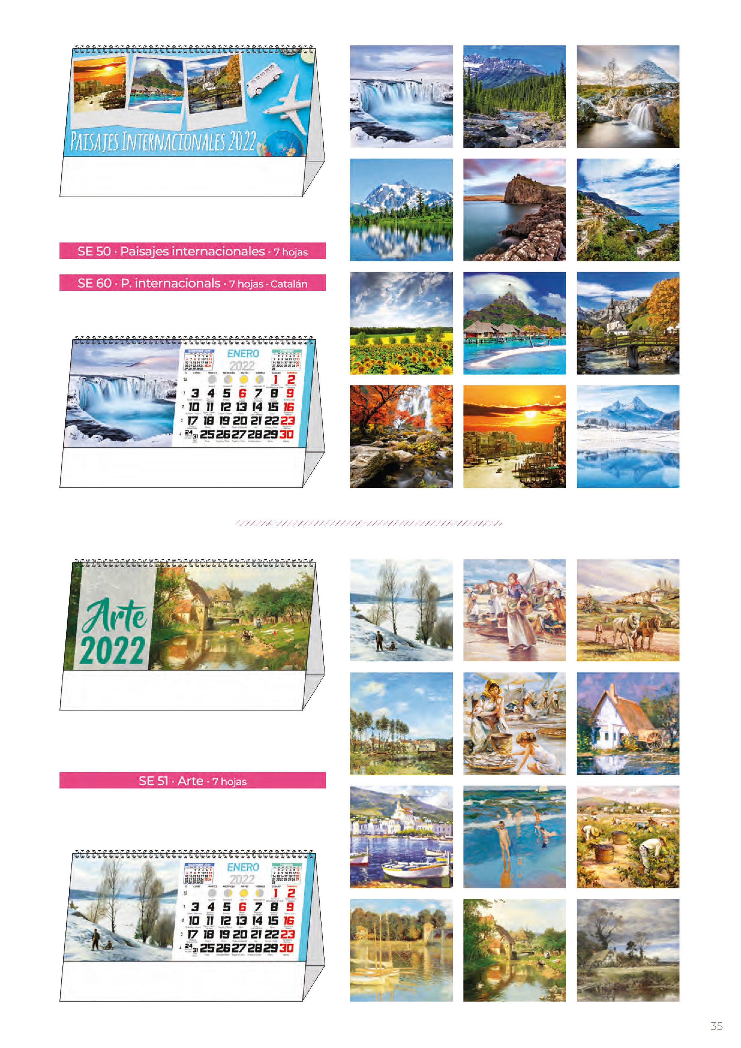 Foto 302 de Calendarios en Madrid | Gráficas Kalendex