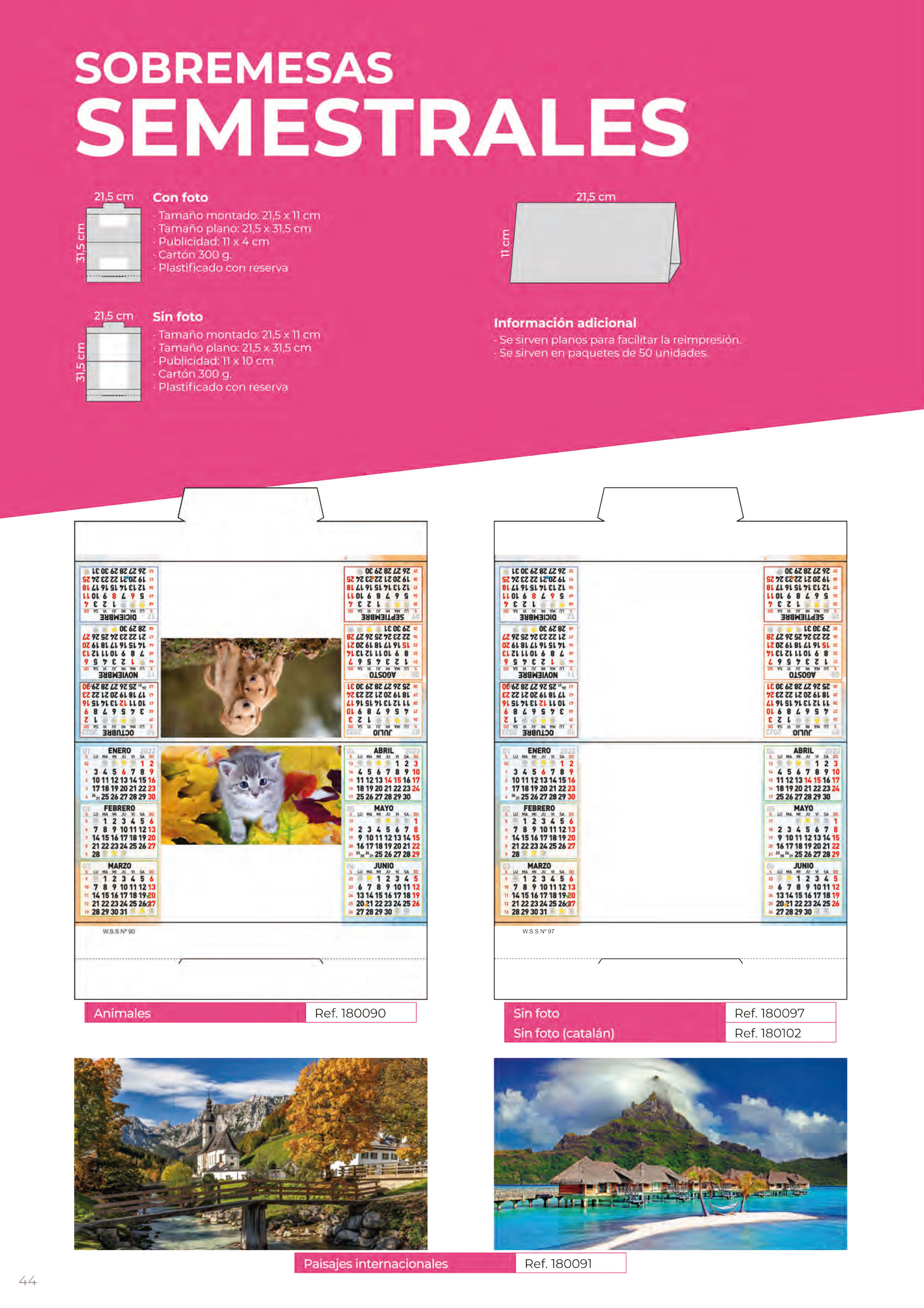 Foto 311 de Calendarios en Madrid | Gráficas Kalendex