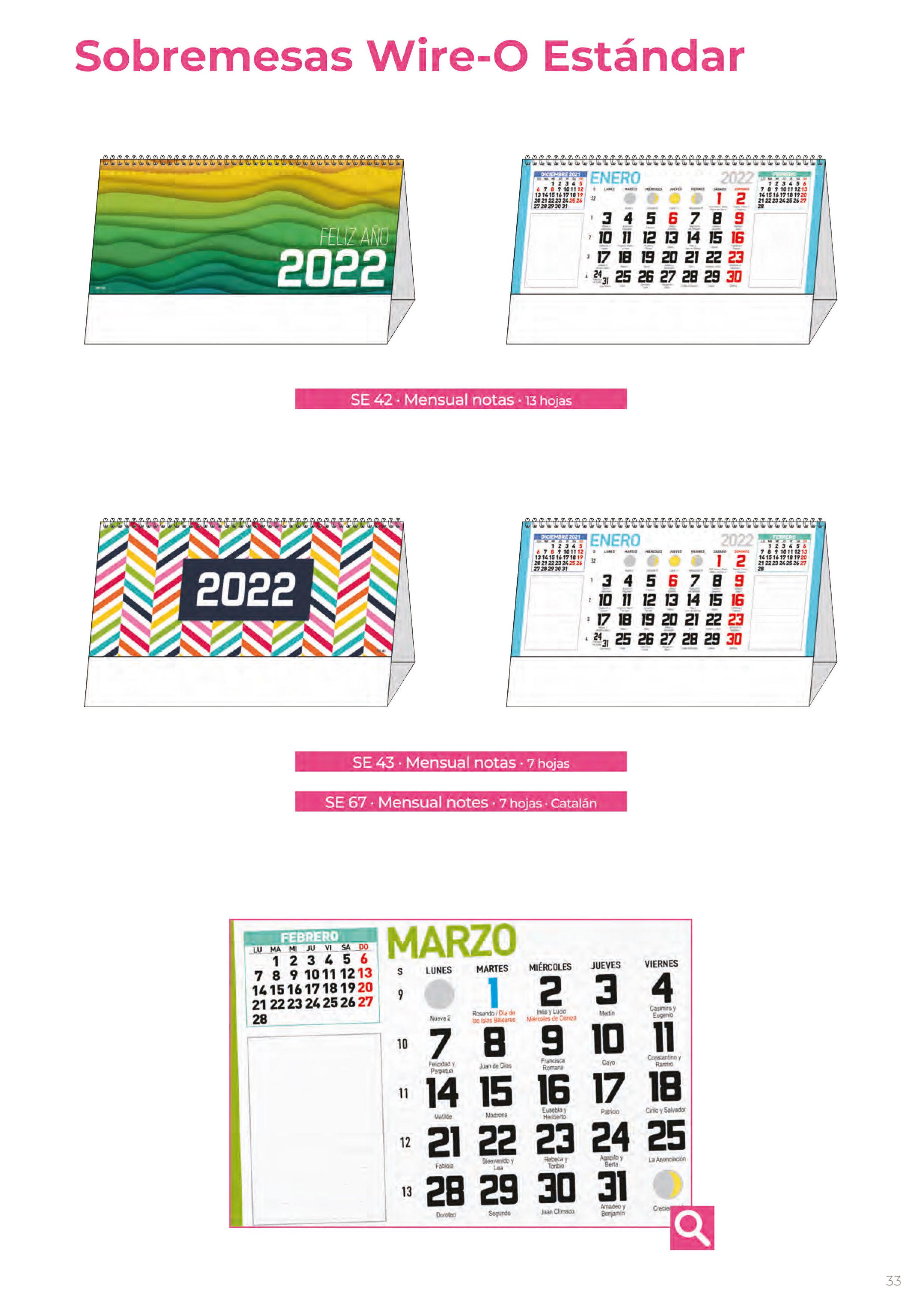 Foto 300 de Calendarios en Madrid | Gráficas Kalendex