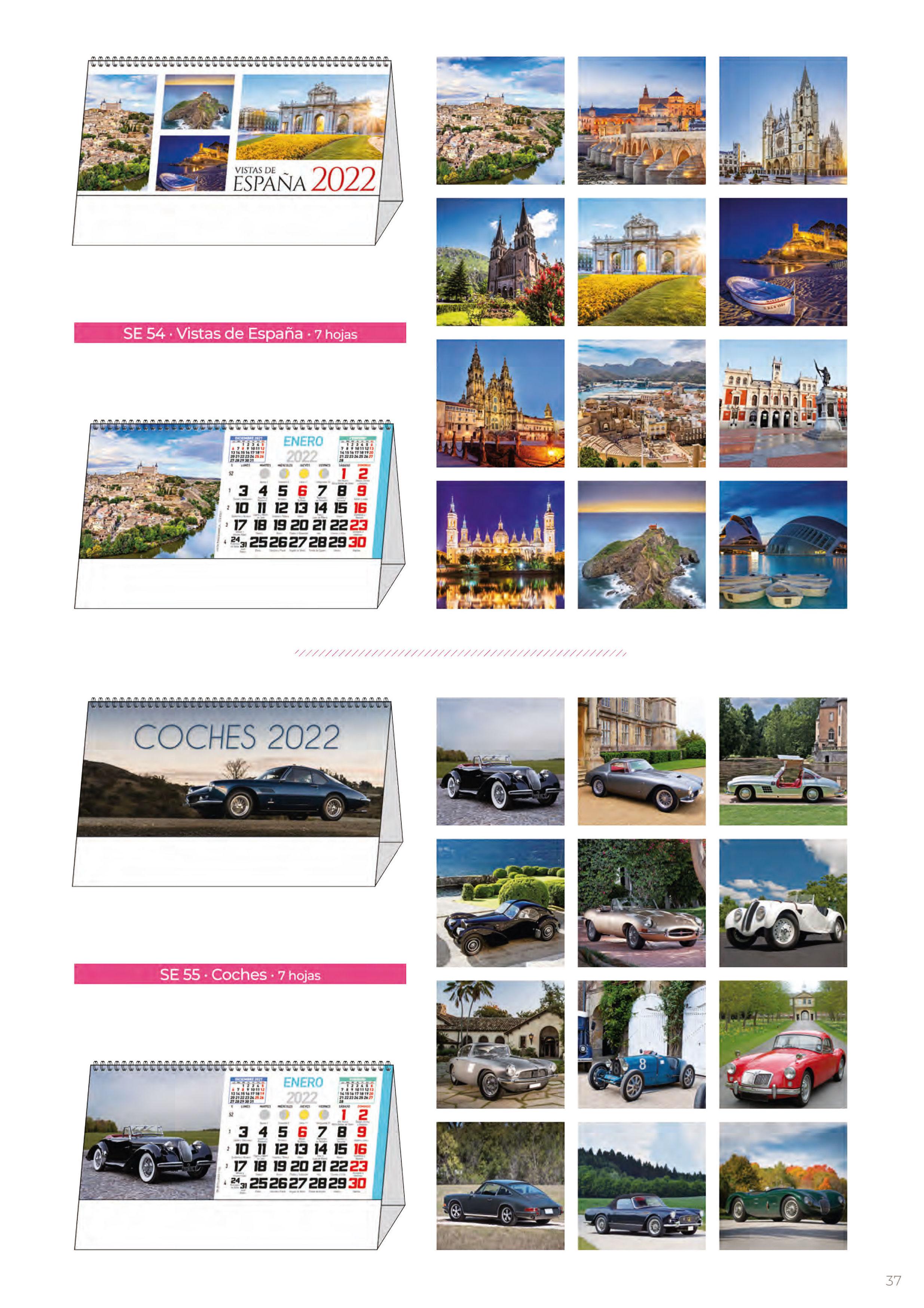 Foto 304 de Calendarios en Madrid | Gráficas Kalendex
