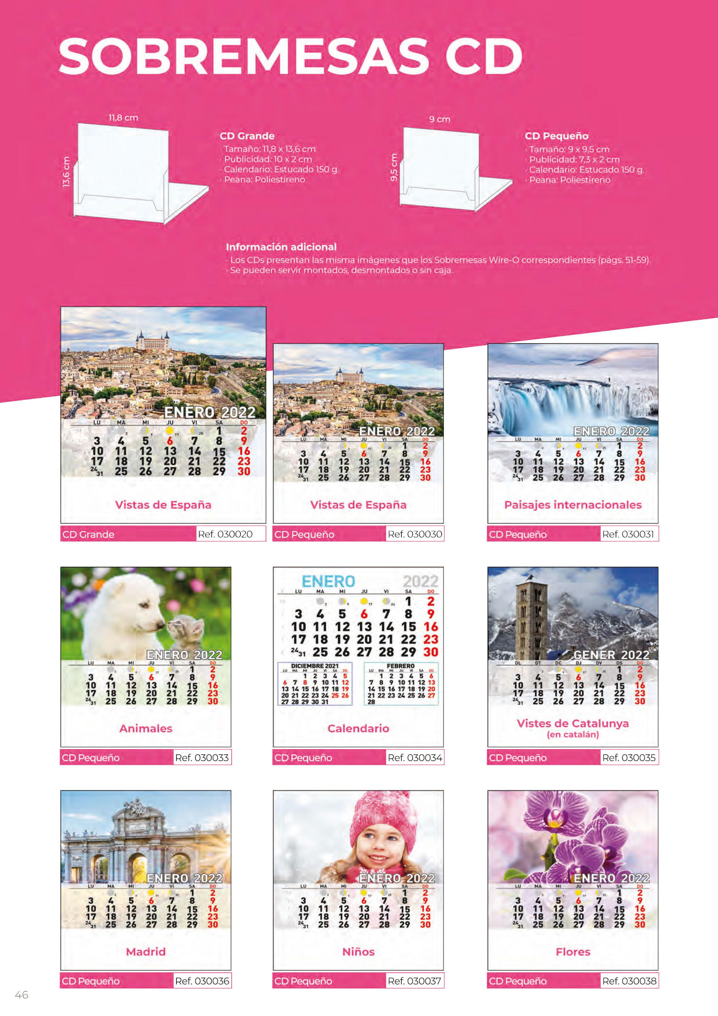 Foto 313 de Calendarios en Madrid | Gráficas Kalendex
