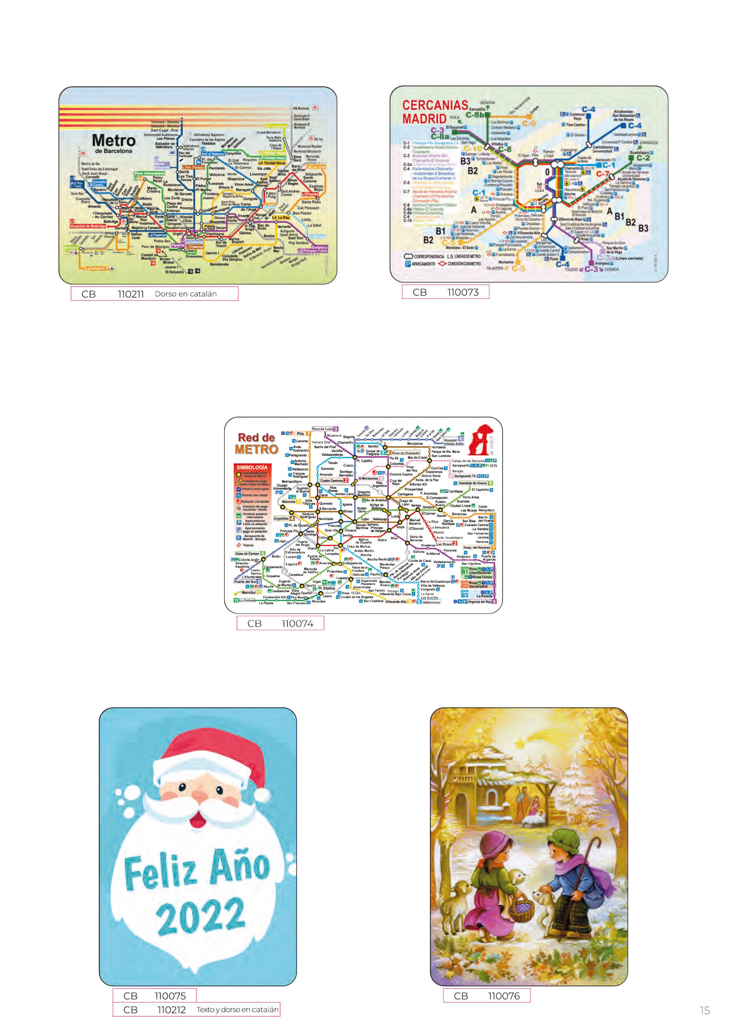 Foto 282 de Calendarios en Madrid | Gráficas Kalendex