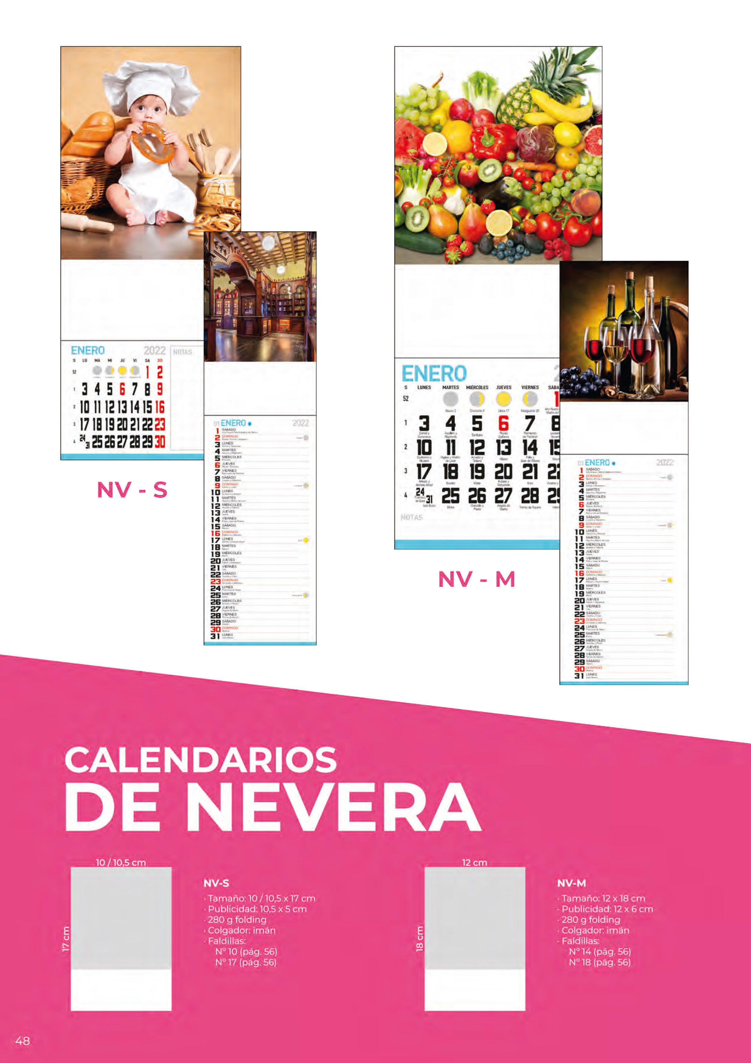 Foto 315 de Calendarios en Madrid | Gráficas Kalendex